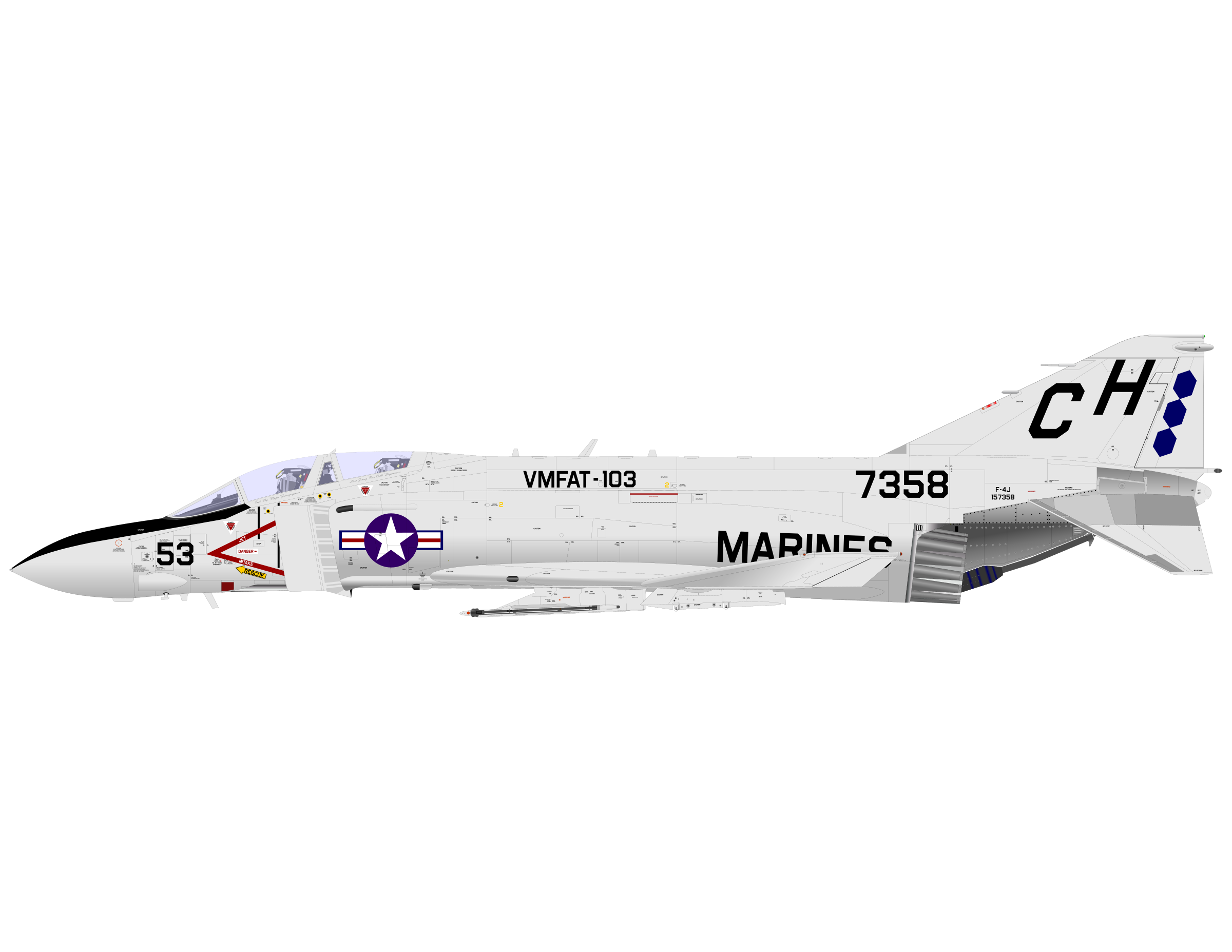 PHANTOM F-4 by charner1963