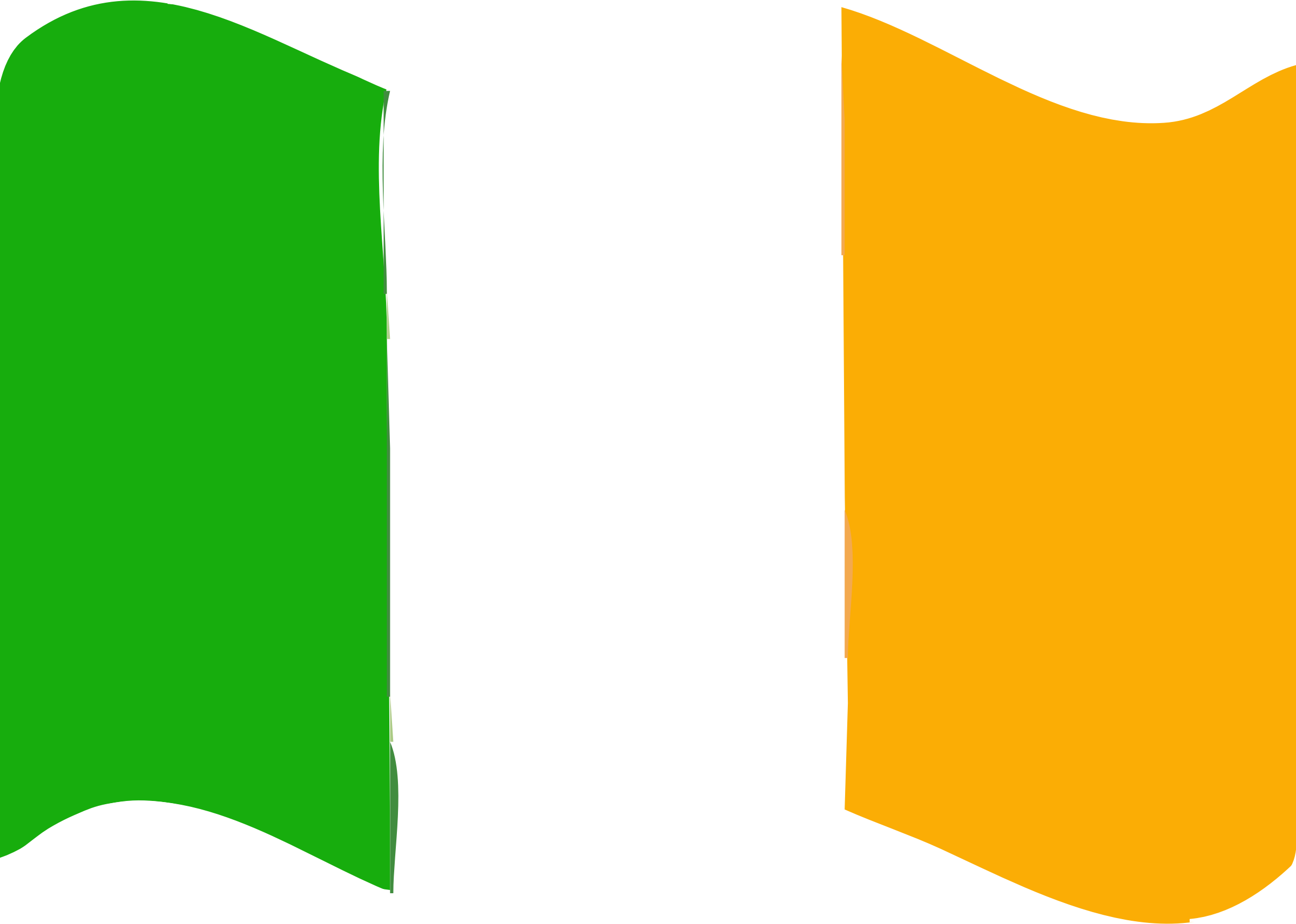 Flag of Ireland wave by Joesph