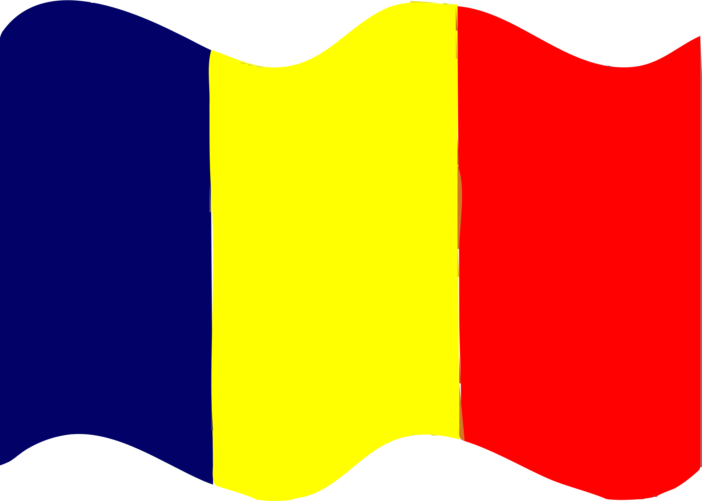 Flag of Chad wave by Joesph
