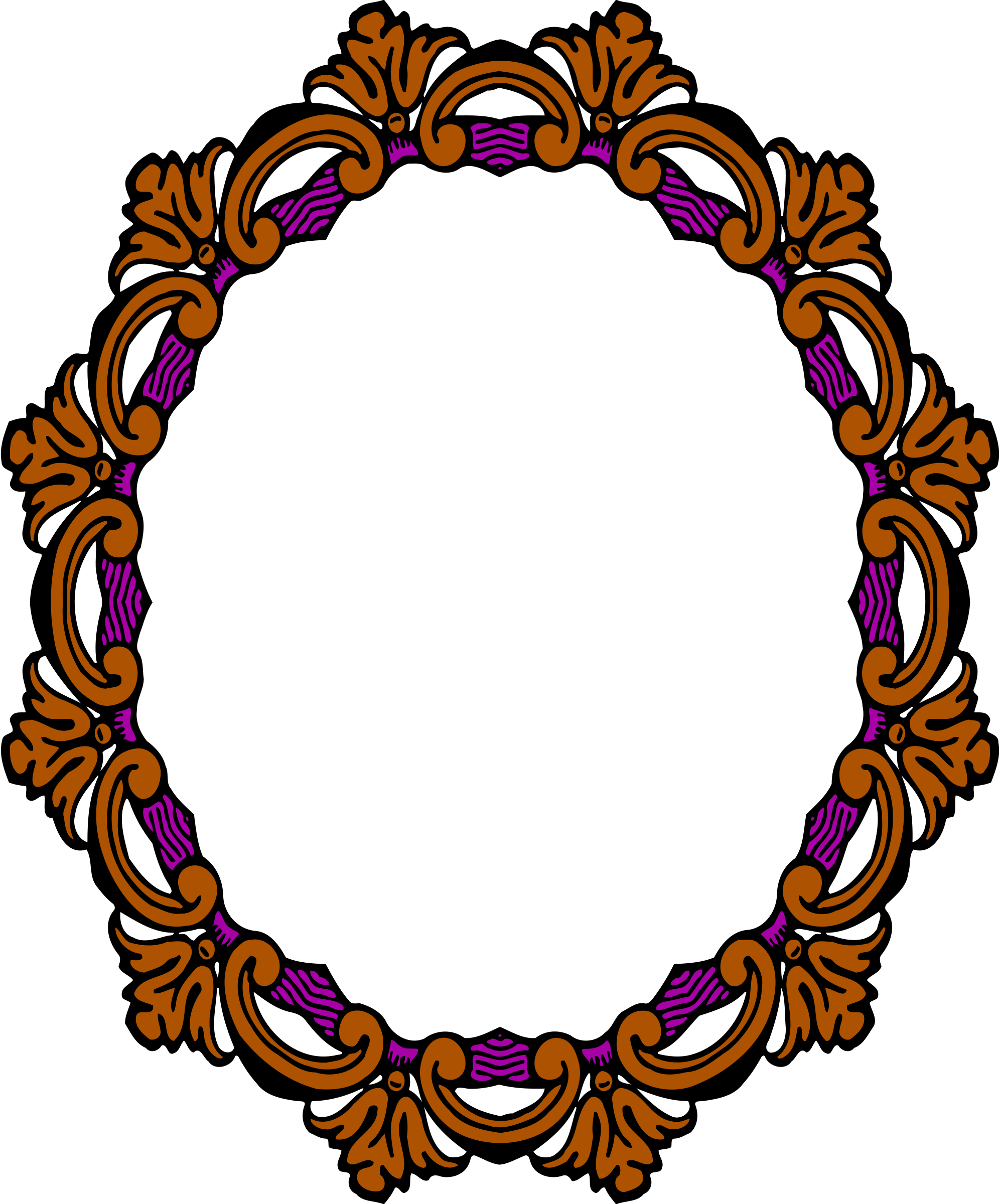 Ornate frame 33 (colour) by Firkin