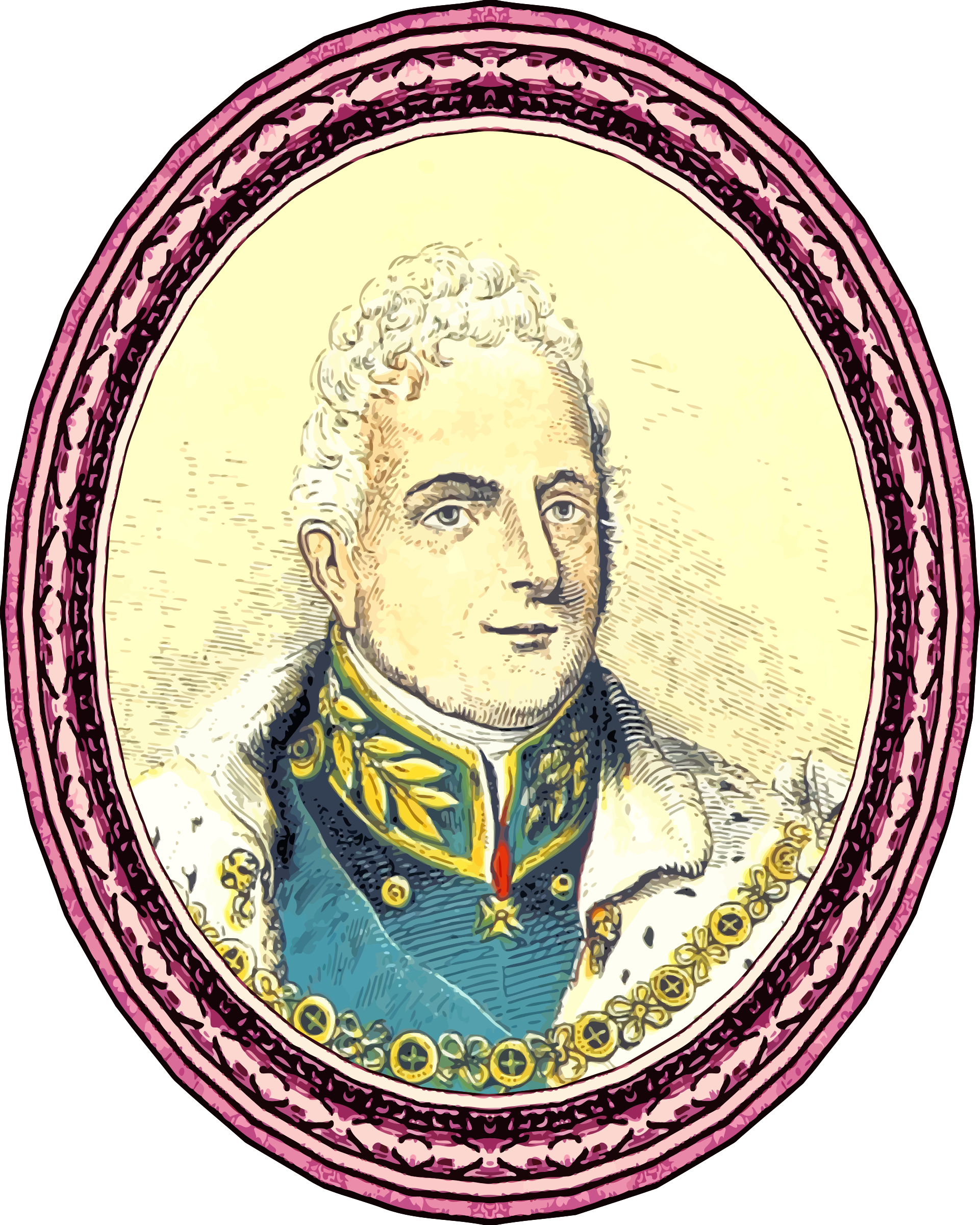 King William IV (framed) by Firkin