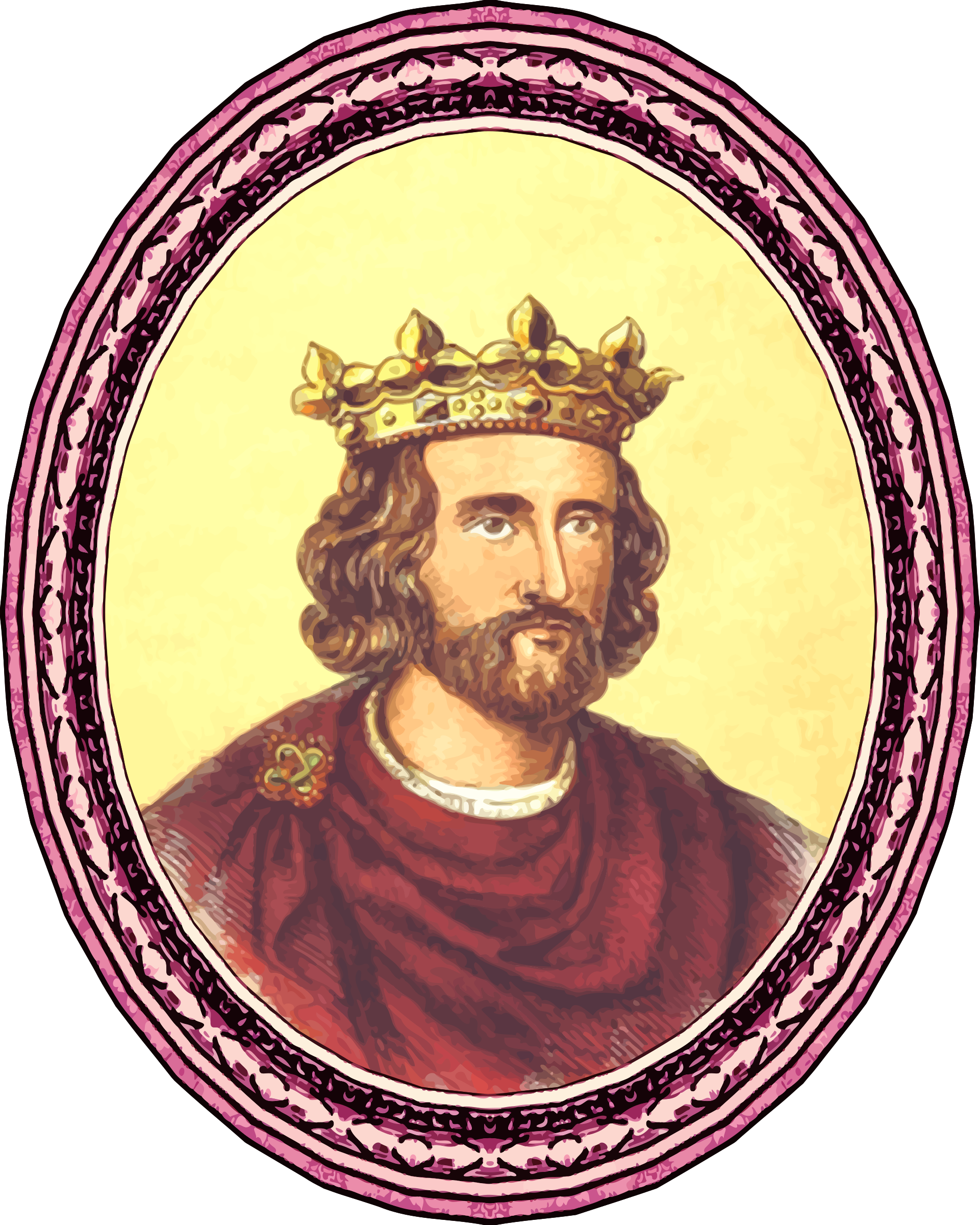 King Henry III (framed) by Firkin