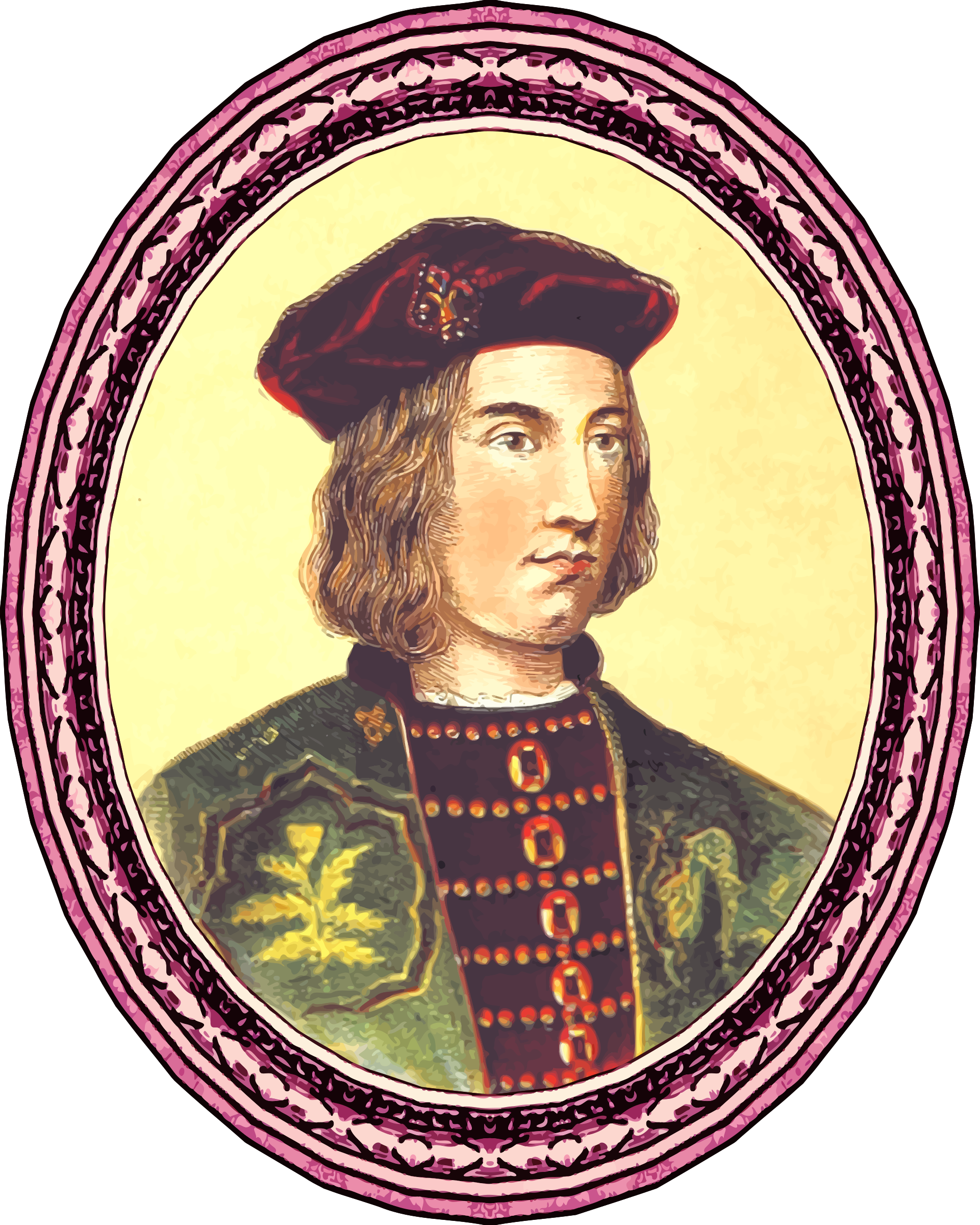 King Edward IV (framed) by Firkin