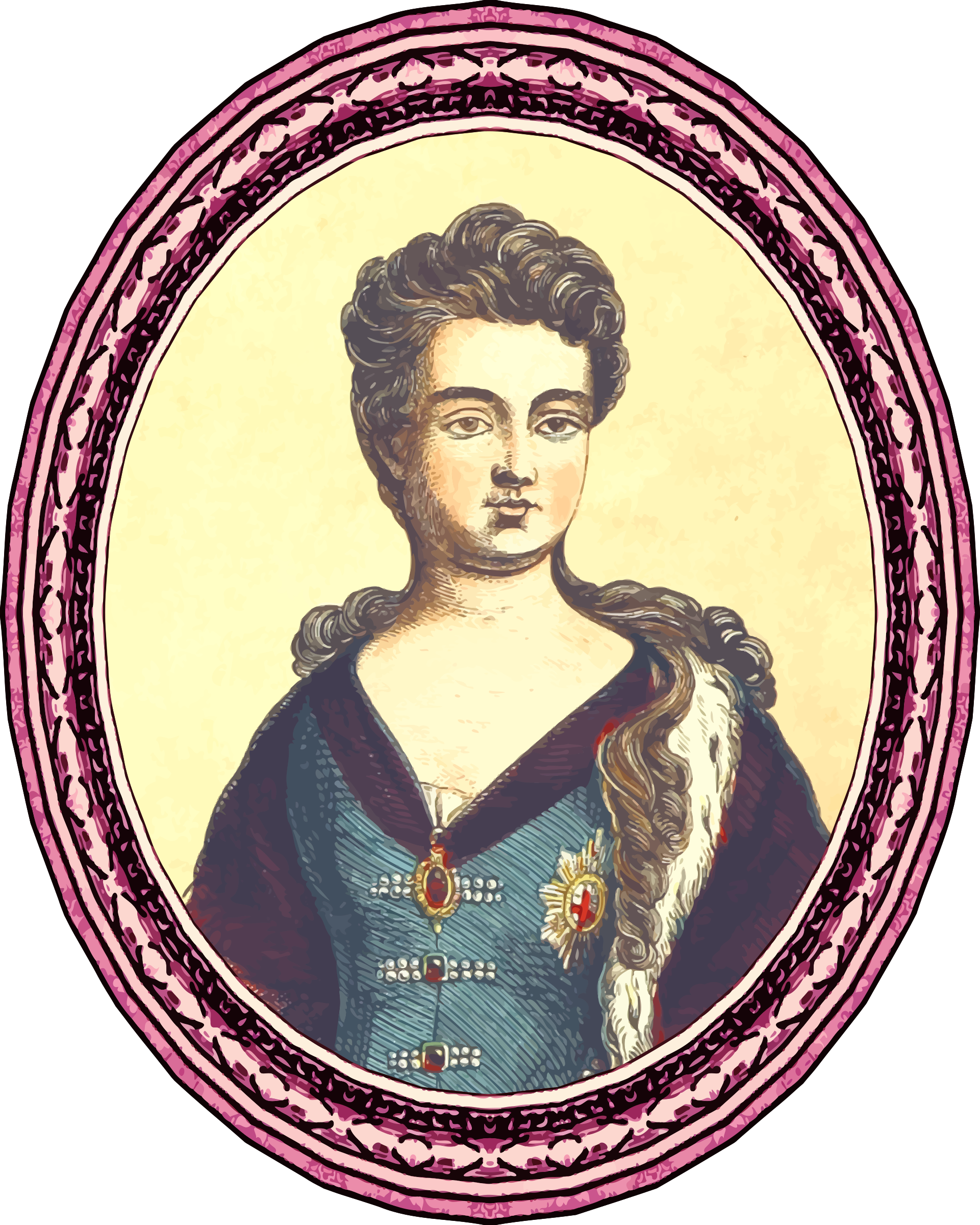 Queen Anne (framed) by Firkin