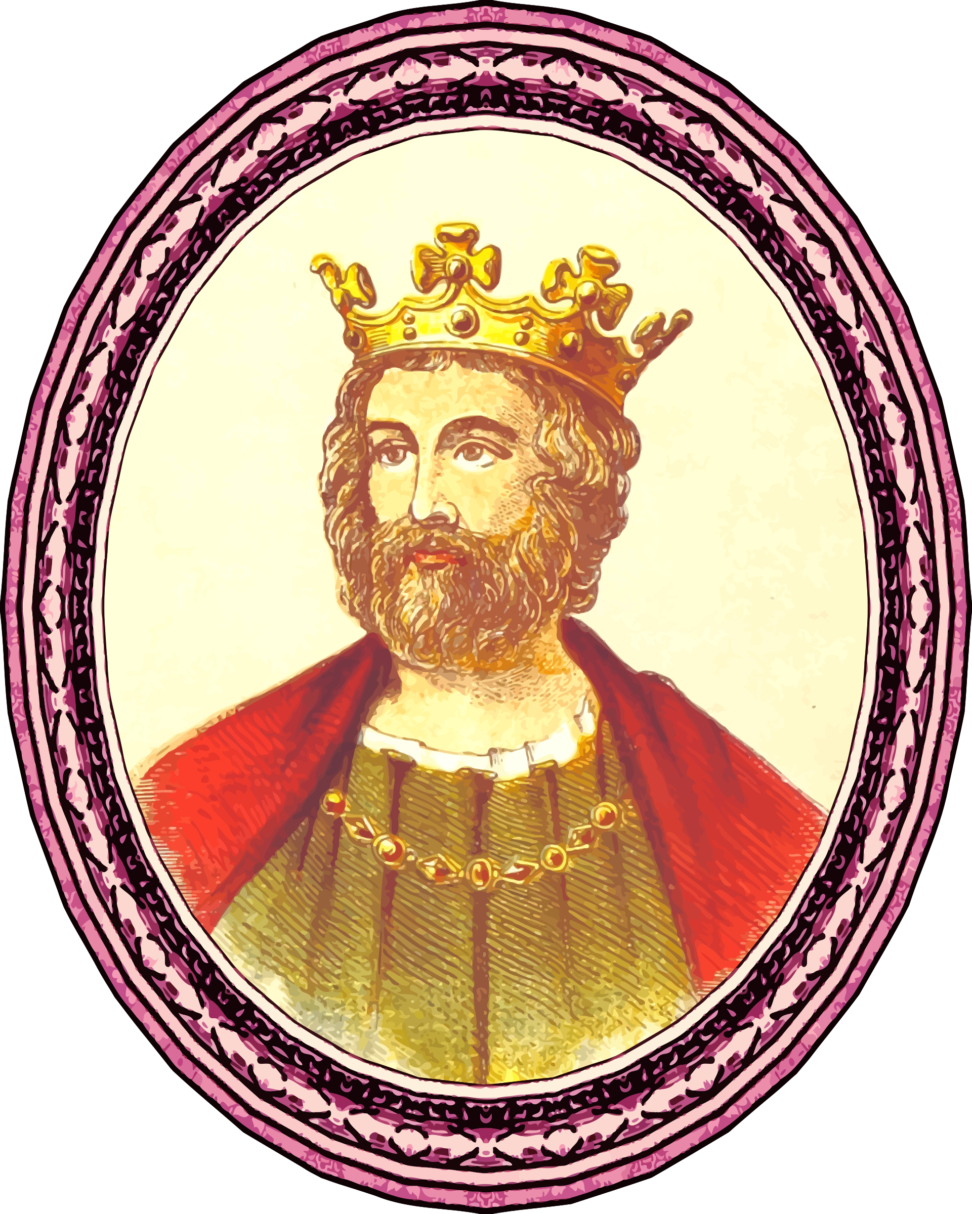 King Edward II (framed) by Firkin