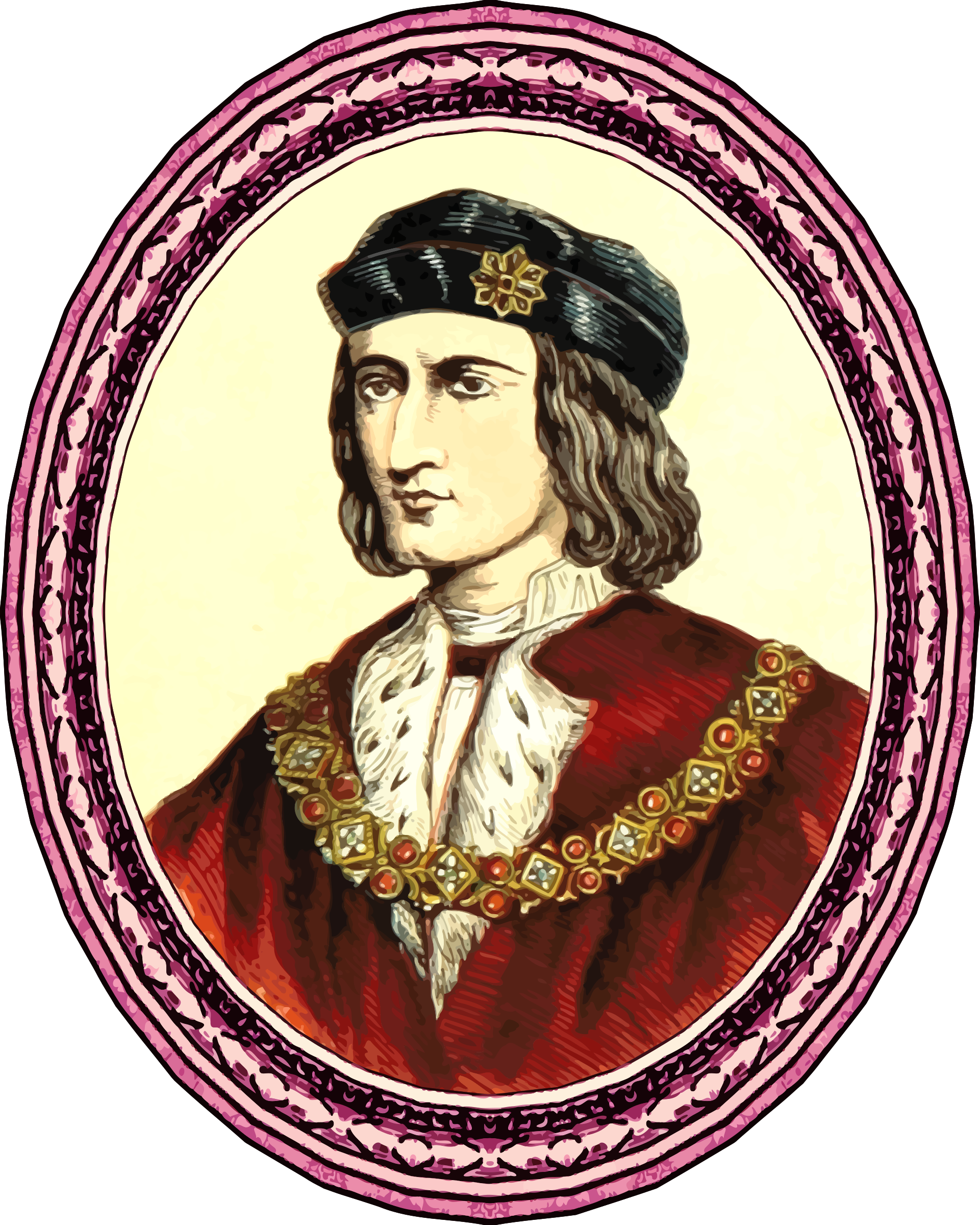 King Richard III (framed) by Firkin