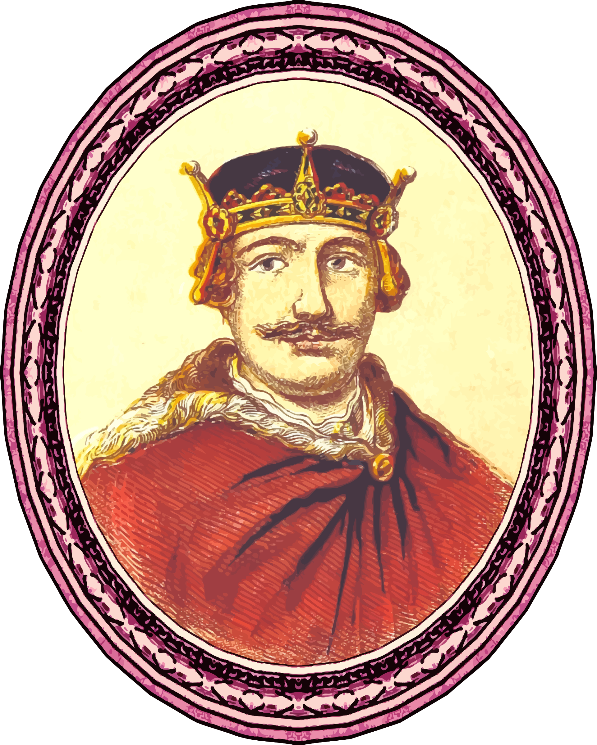 King William II (framed) by Firkin