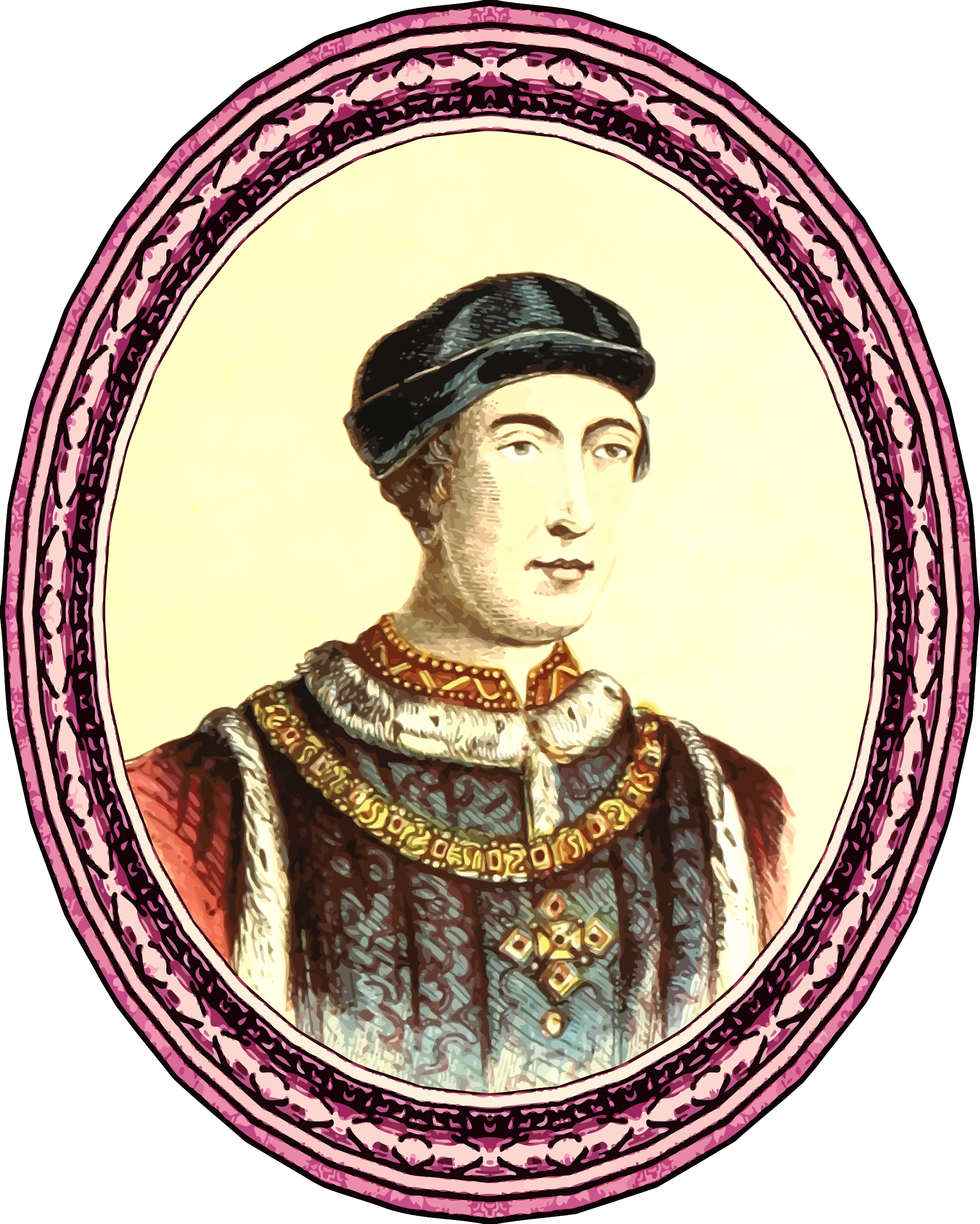 King Henry VI (framed) by Firkin