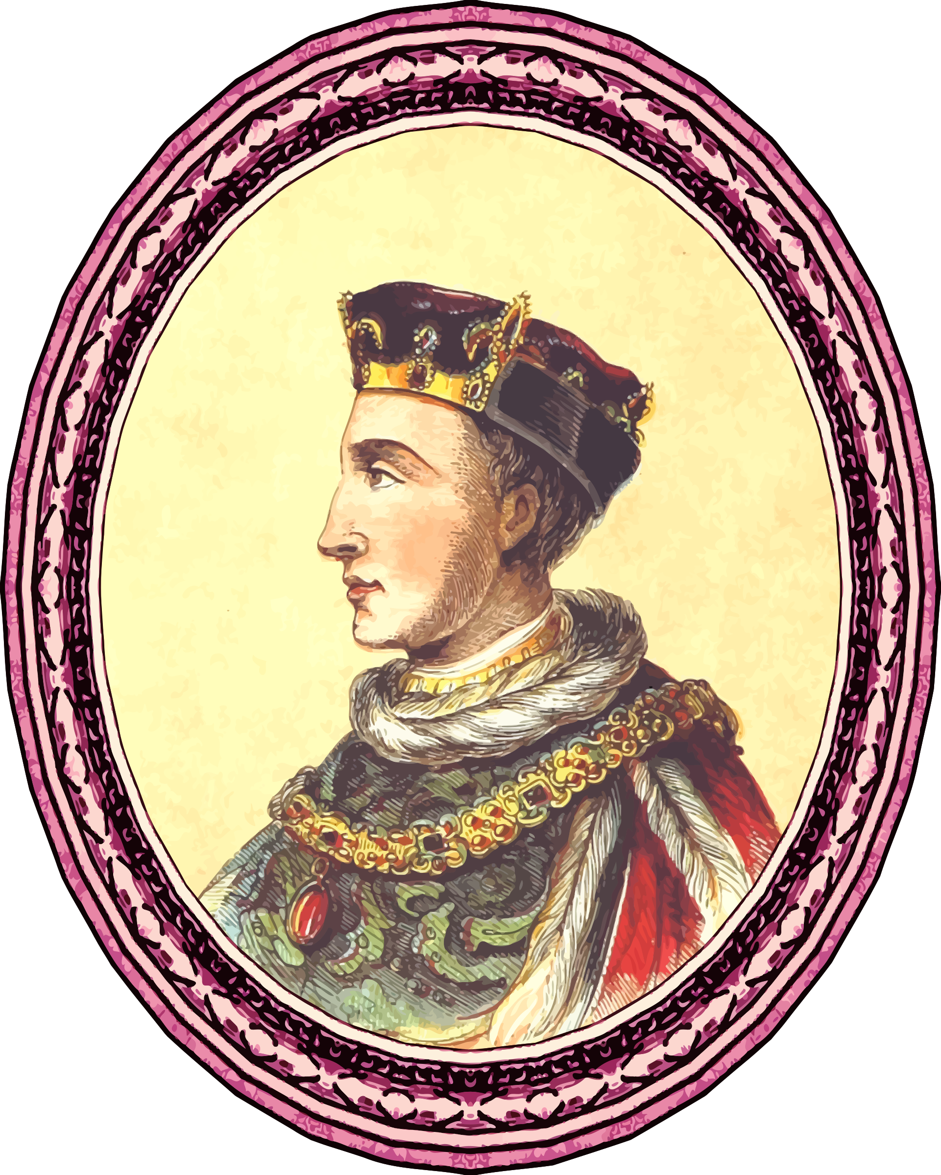 Henry V (framed) by Firkin
