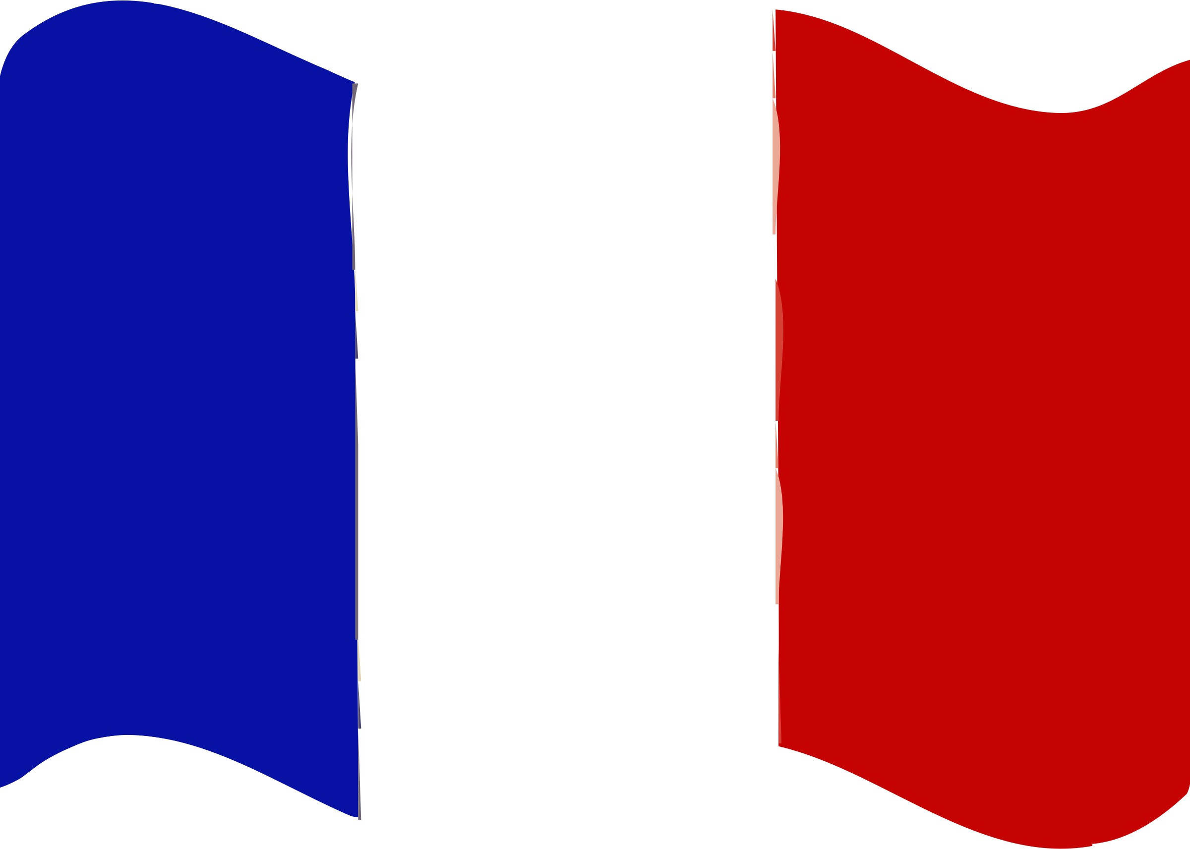 Flag of France wave by Joesph
