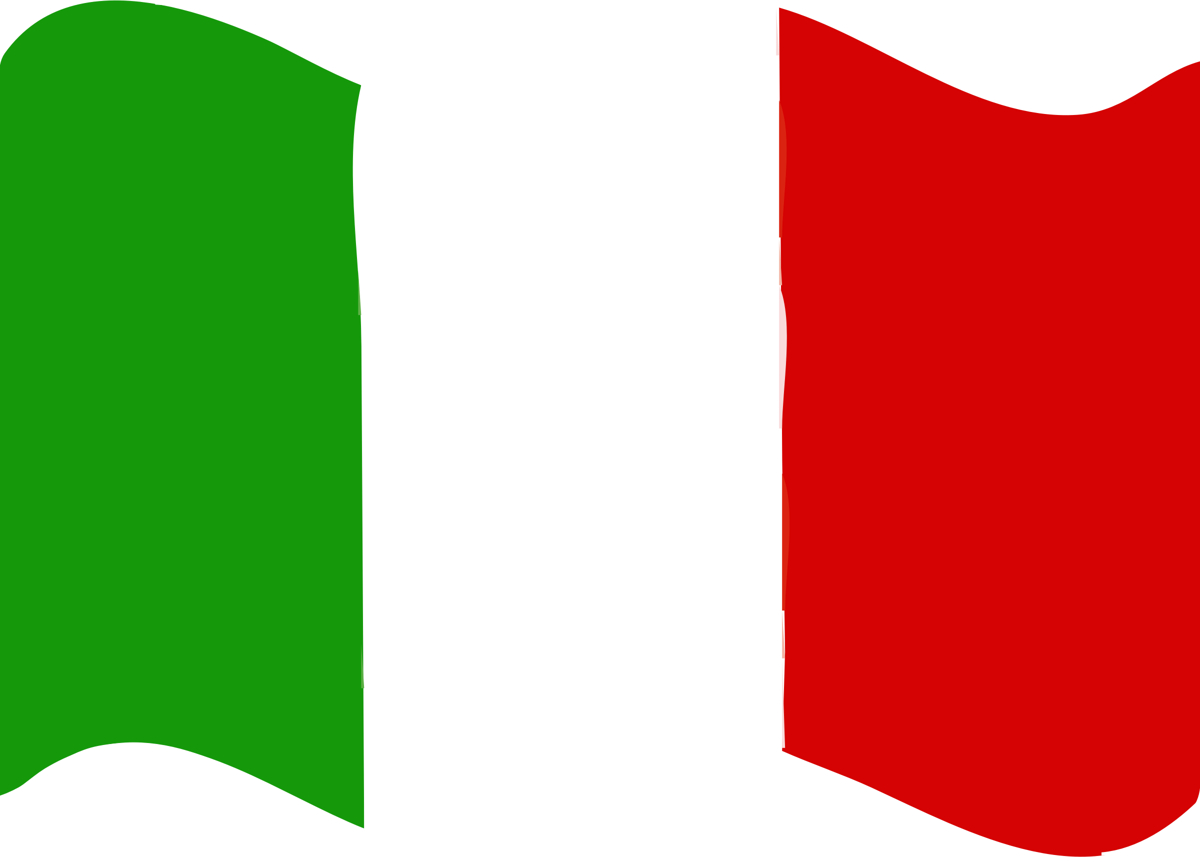 Flag of Italy wave by Joesph