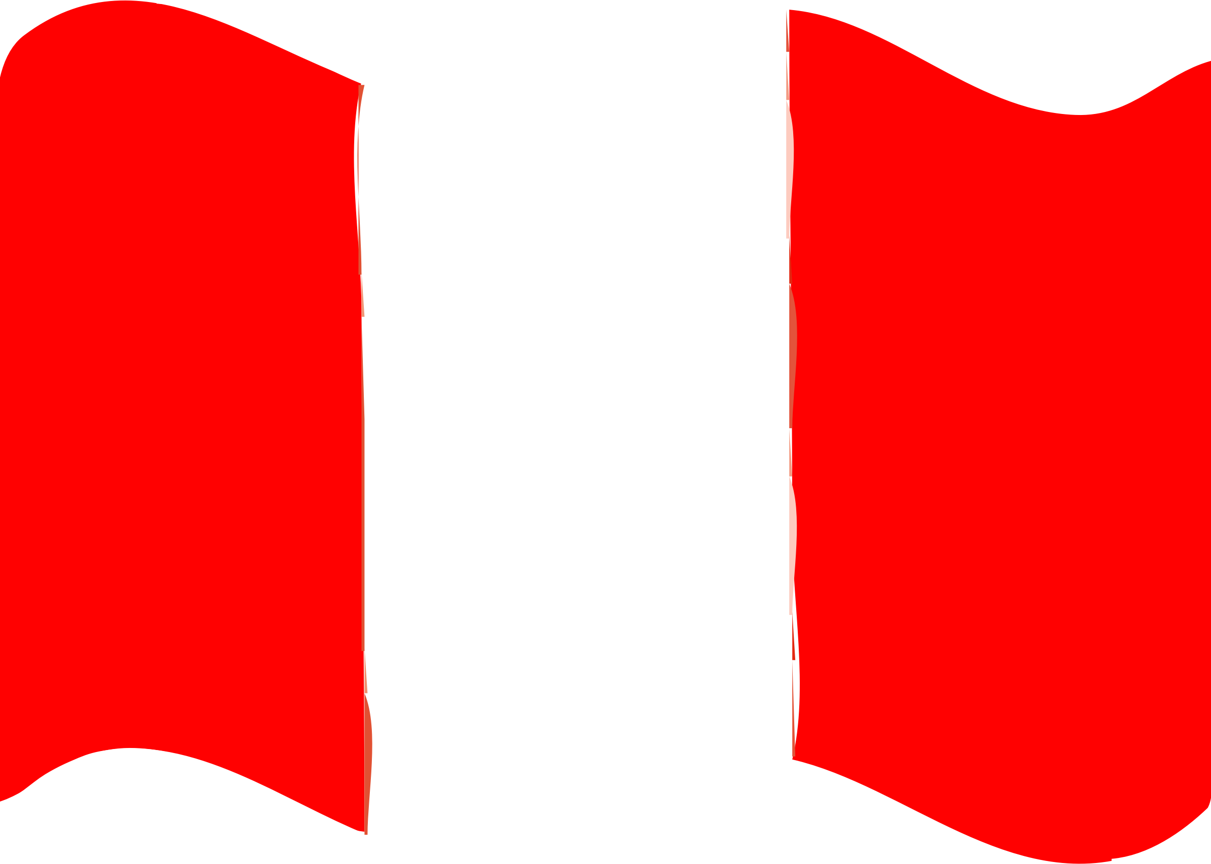 Flag of Peru wave by Joesph