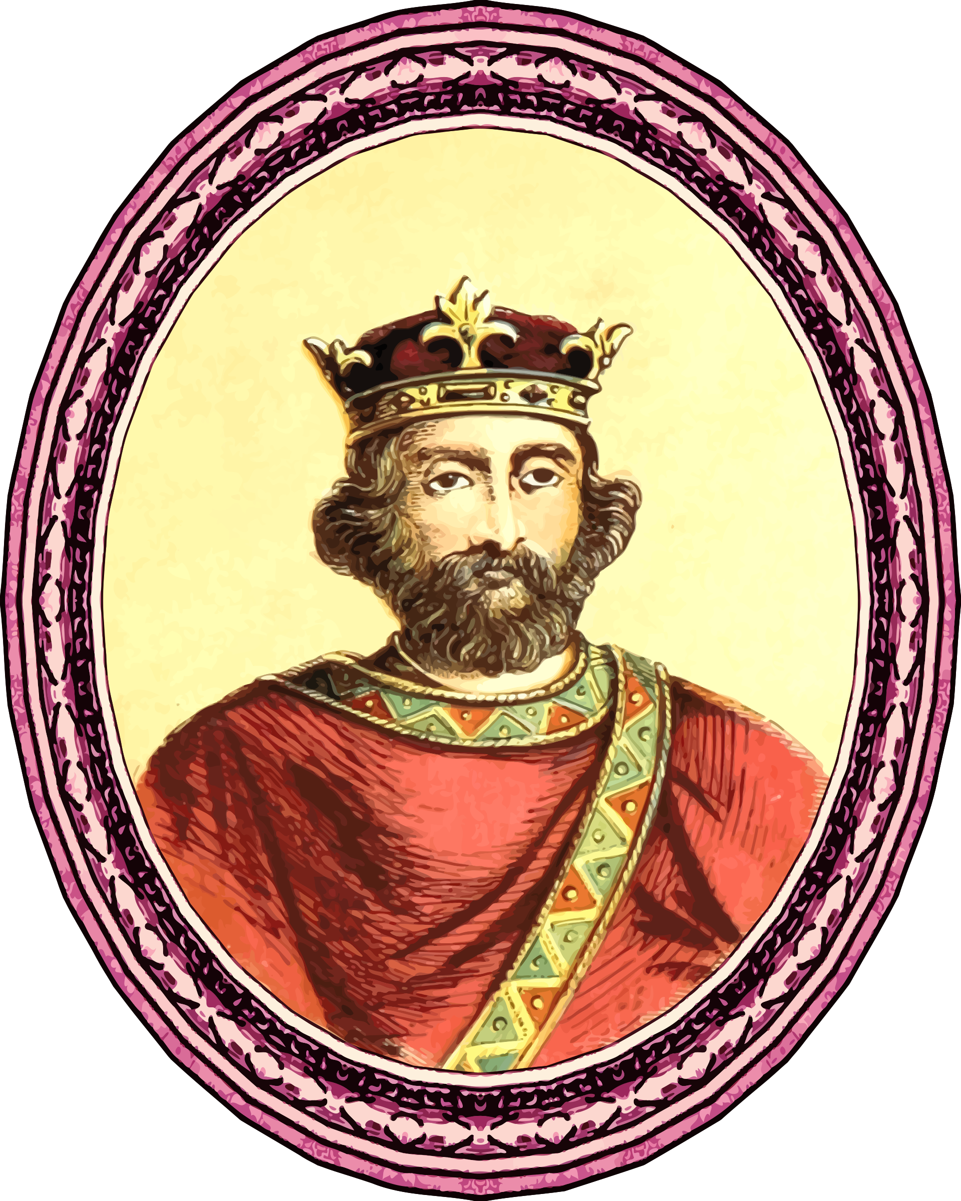 King Henry II (framed) by Firkin