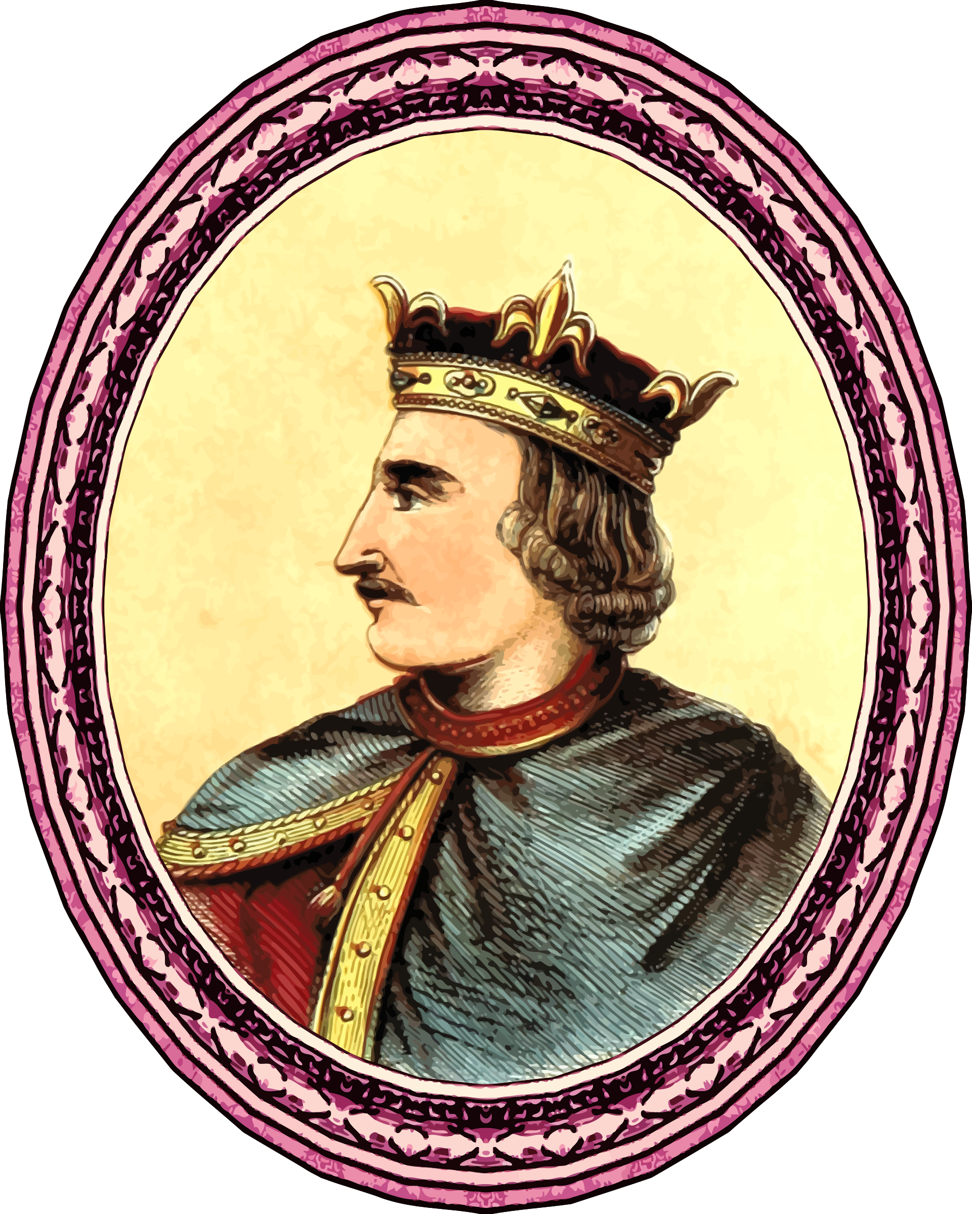 King Henry I (framed) by Firkin