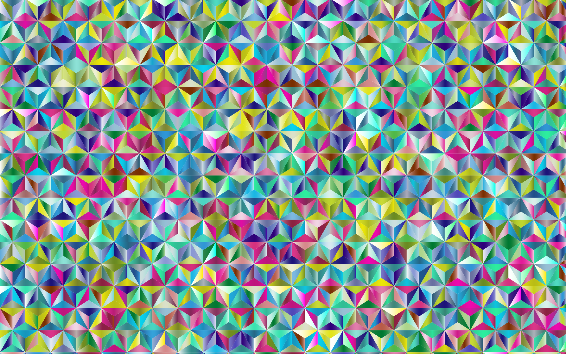 Prismatic Triangular Pattern 2 by GDJ