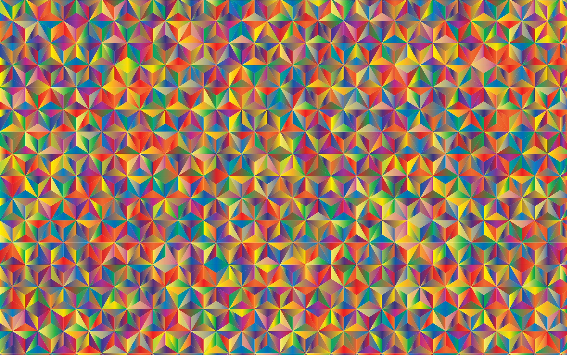 Prismatic Triangular Pattern 3 by GDJ