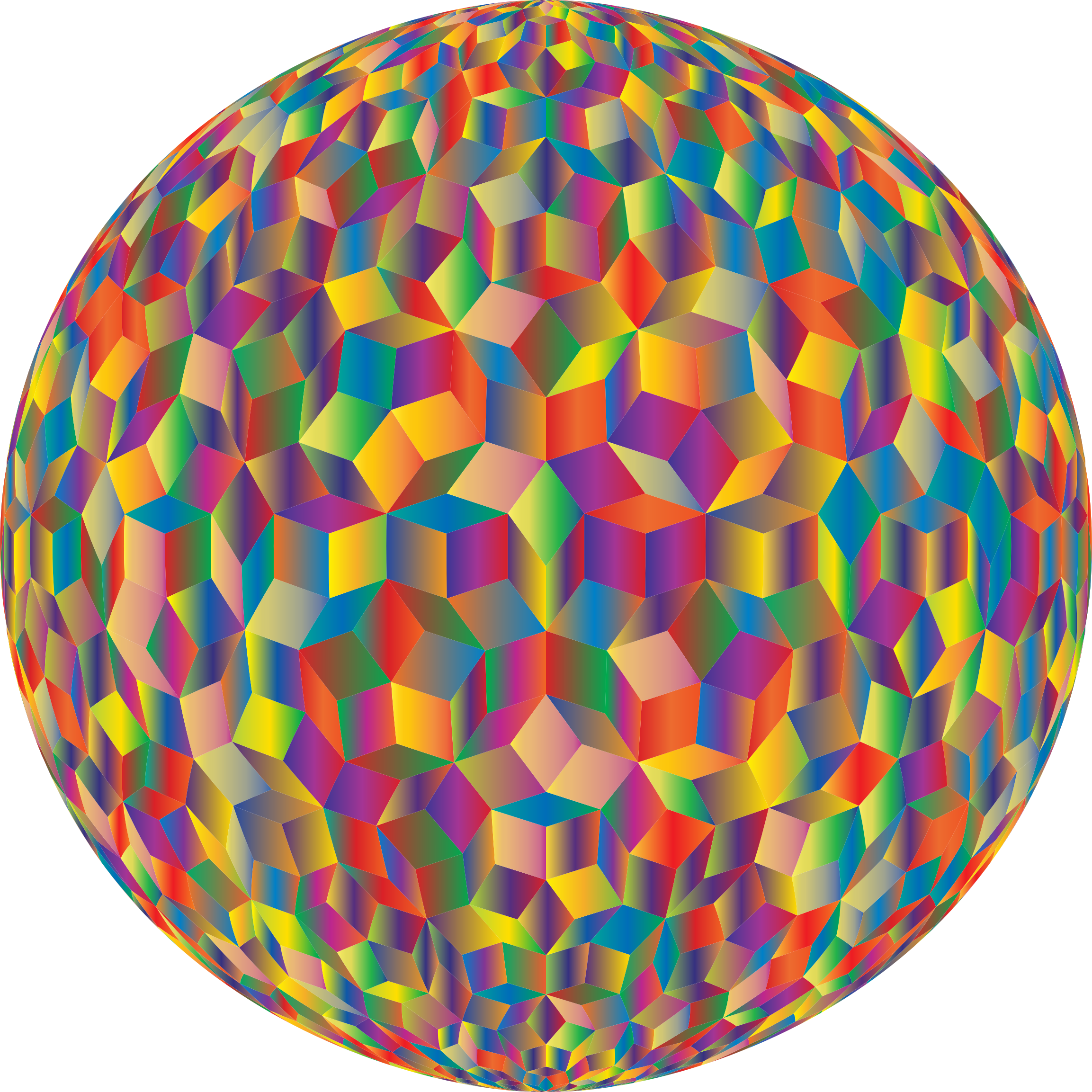 Prismatic Penrose Sphere Variation 5 by GDJ