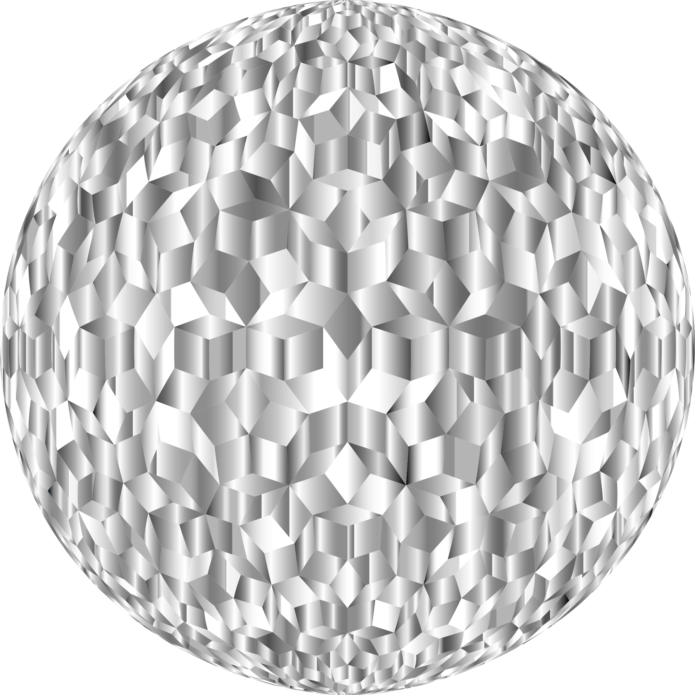 Prismatic Penrose Sphere Variation 6 by GDJ