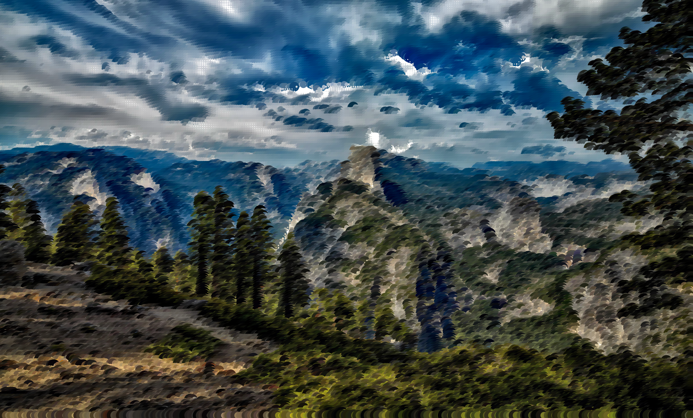Surreal Yosemite by GDJ