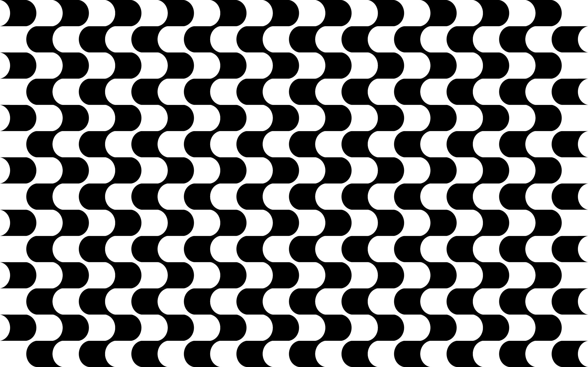 Clipart Abstract Black And White Geometric Pattern