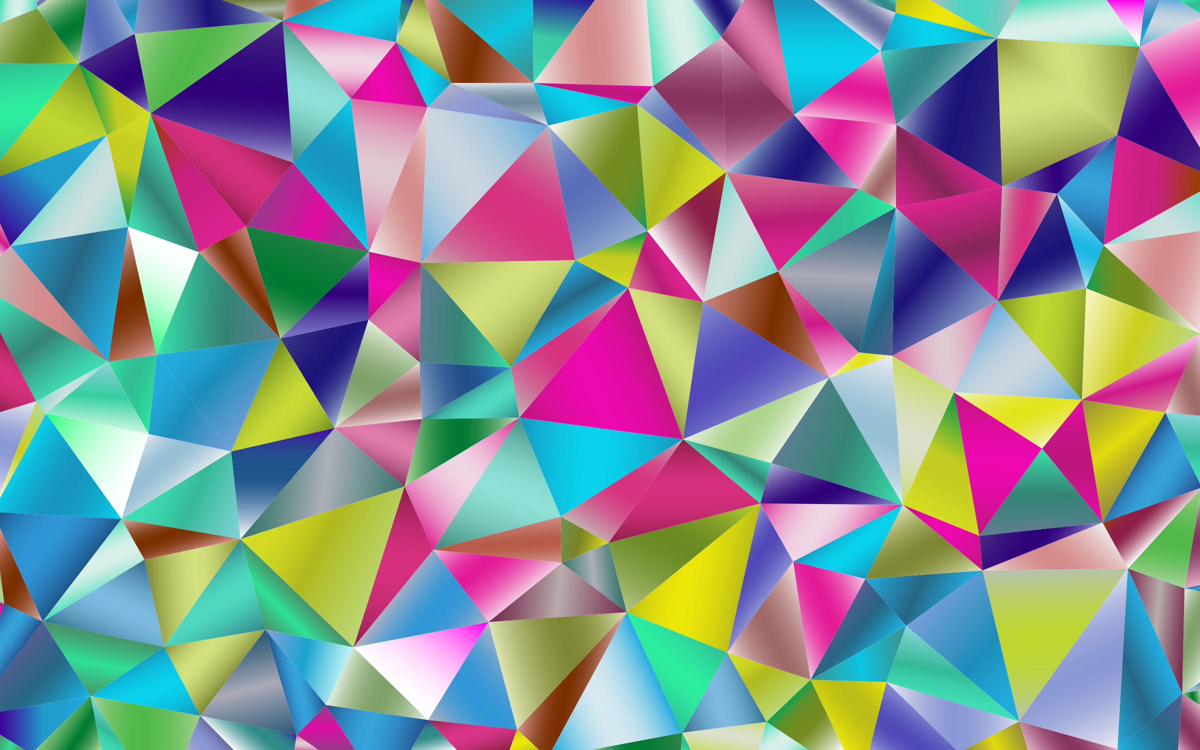 Prismatic Triangular Background by GDJ