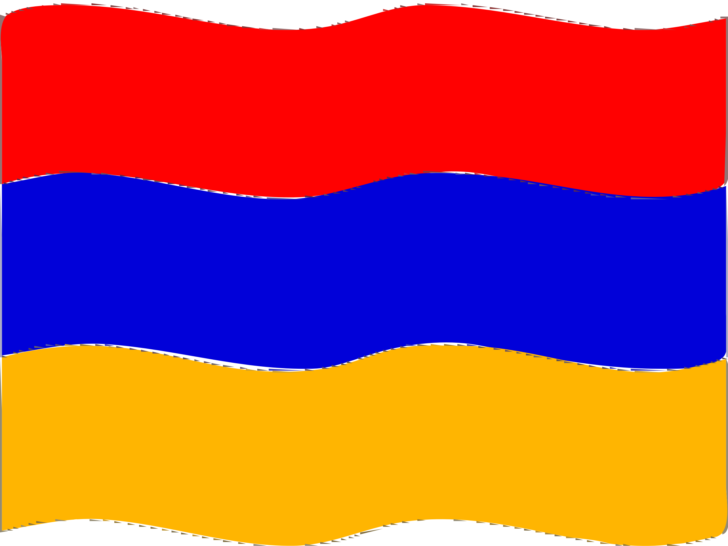 Flag of Armenia wave by Joesph
