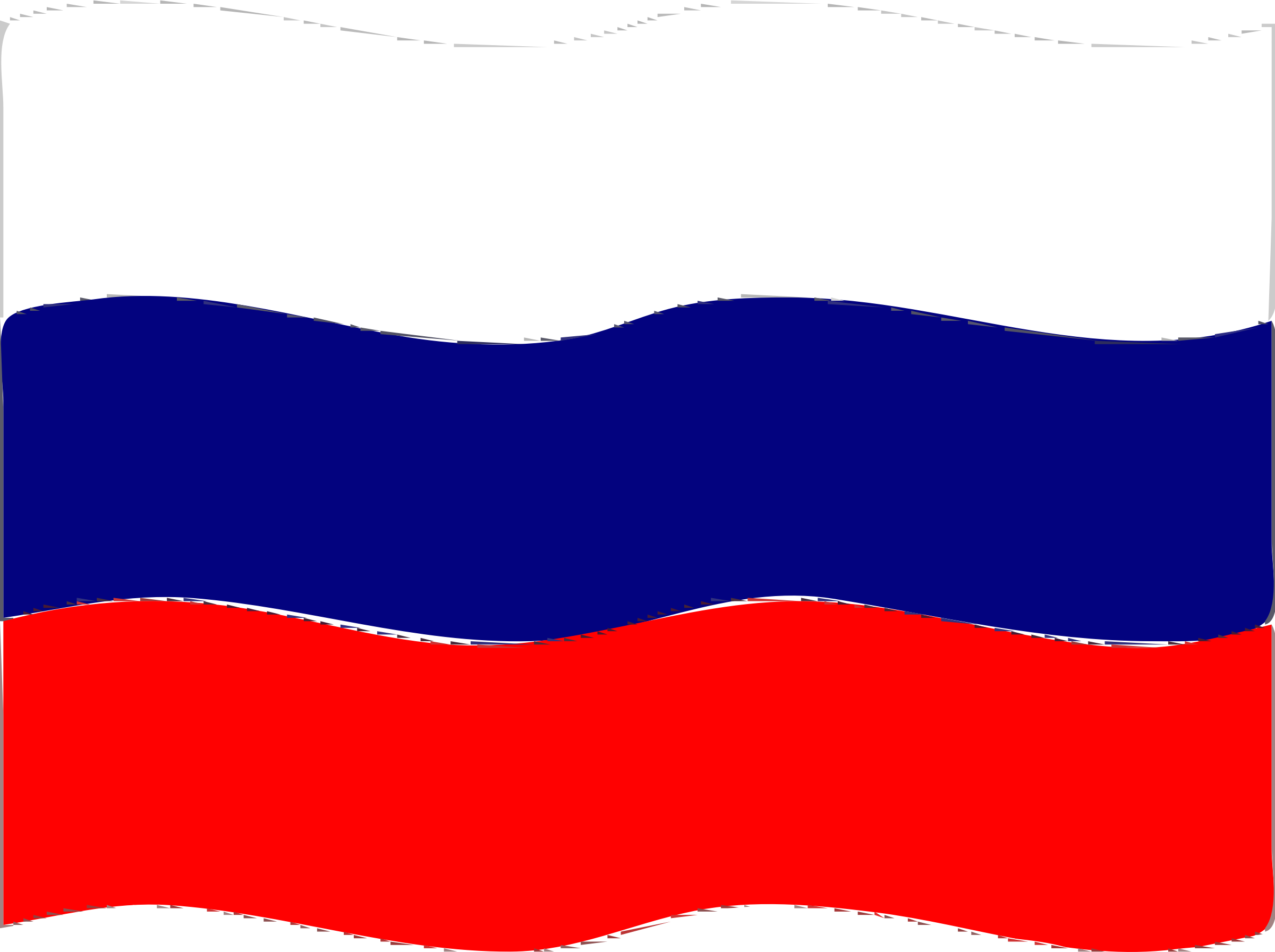 Flag of Russia wave by Joesph