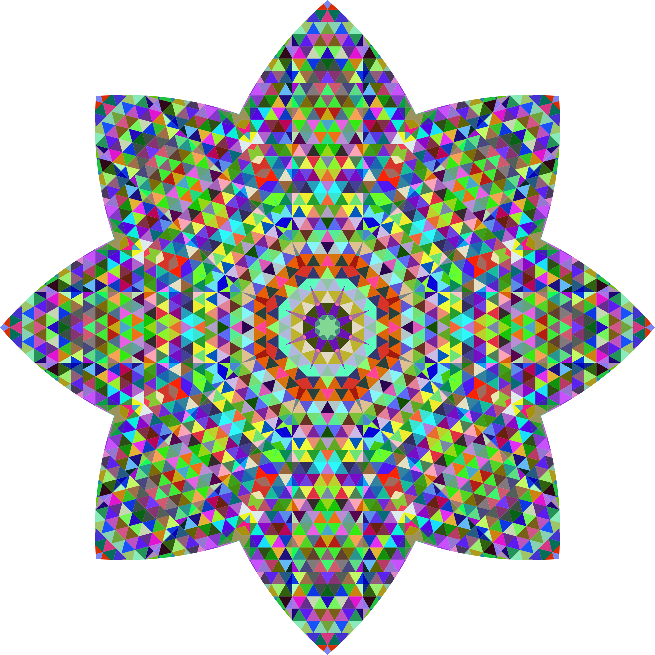 Geometric Mandala 2 by GDJ