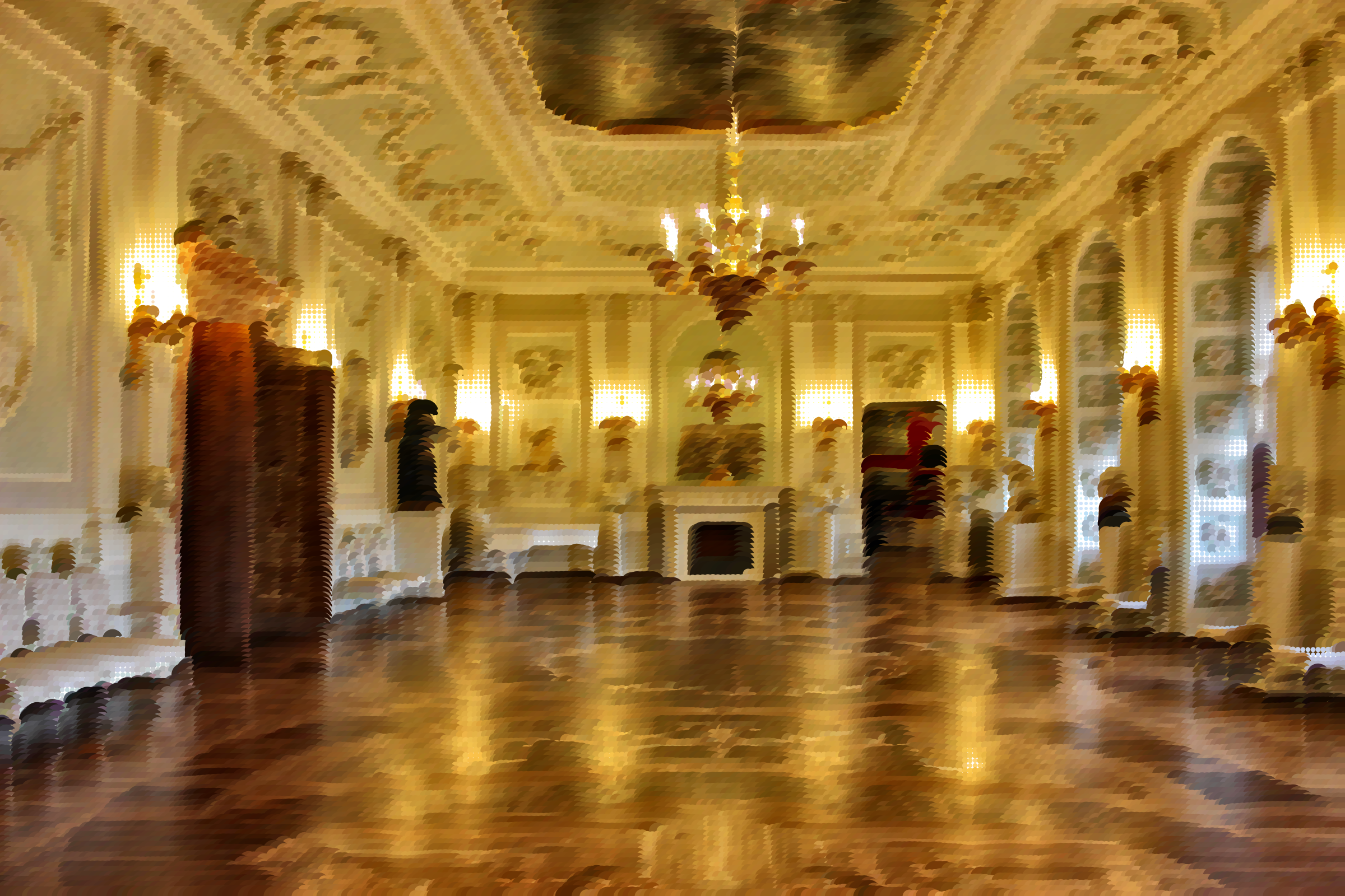 Surreal St Petersburg Palace Interior by GDJ