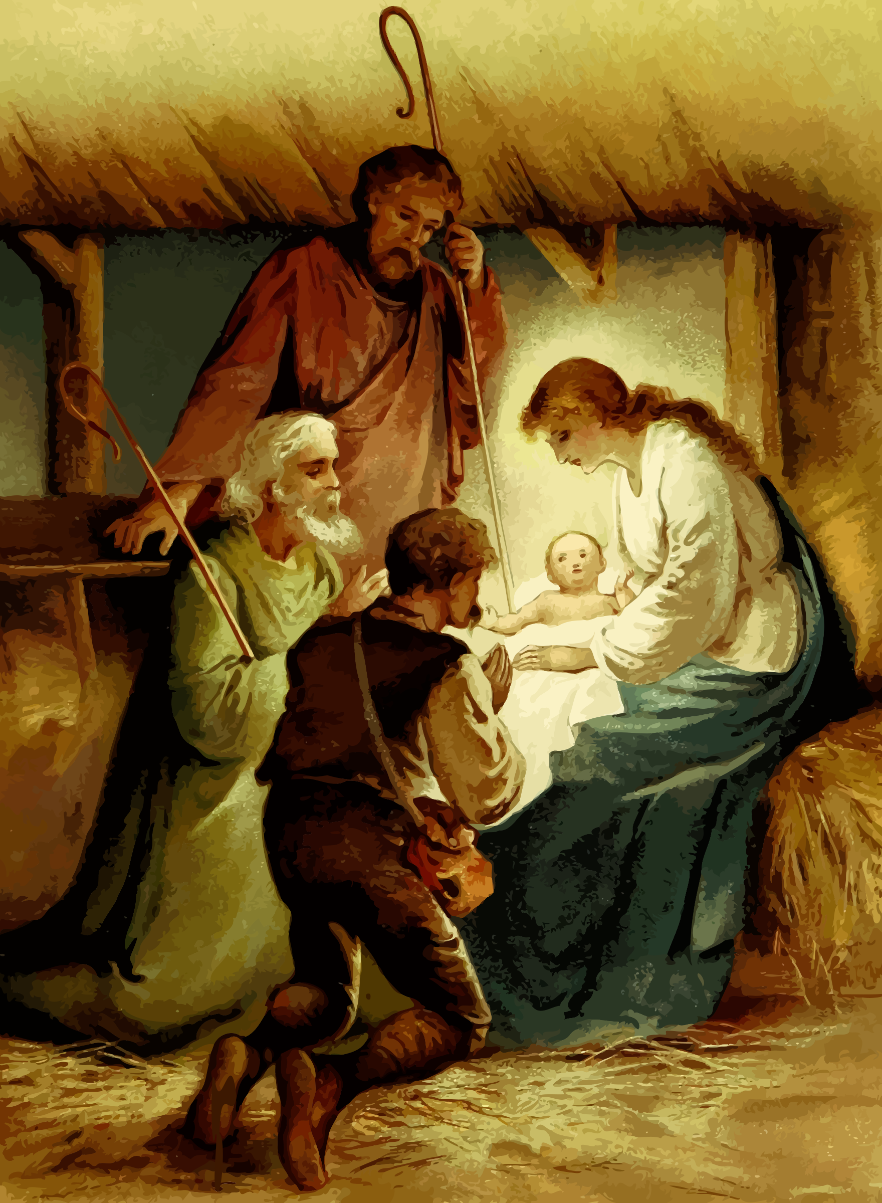 Nativity scene by Firkin