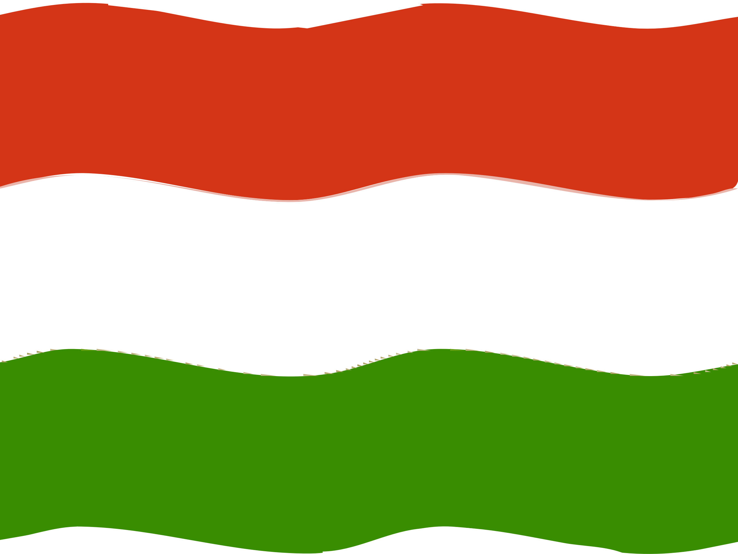 Clipart Flag Of Hungary Wave