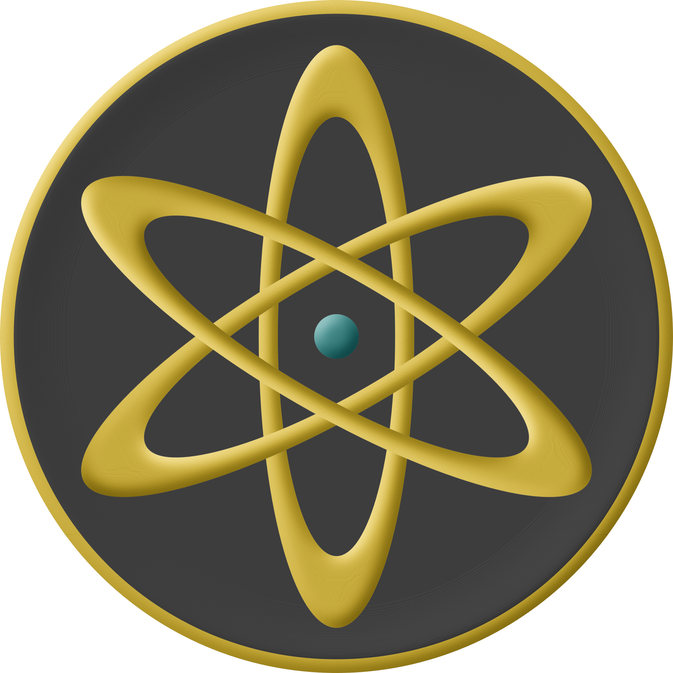 Atom Plaque by AdamStanislav