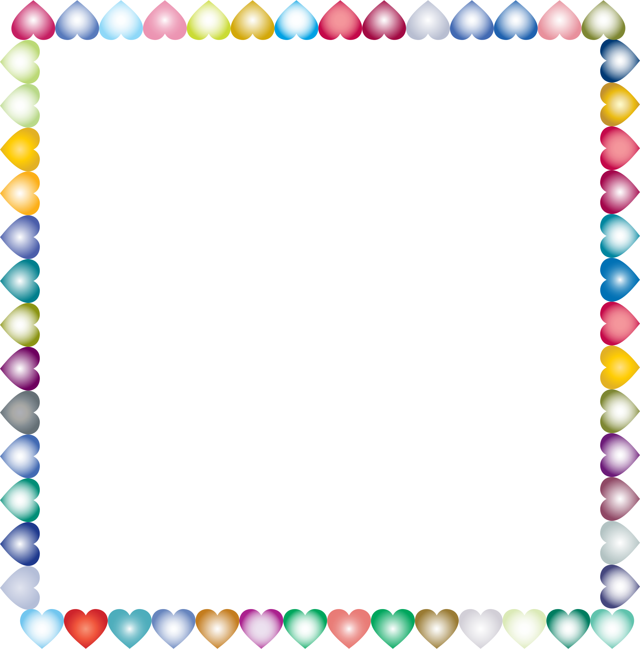 Prismatic Hearts Frame 3 by GDJ