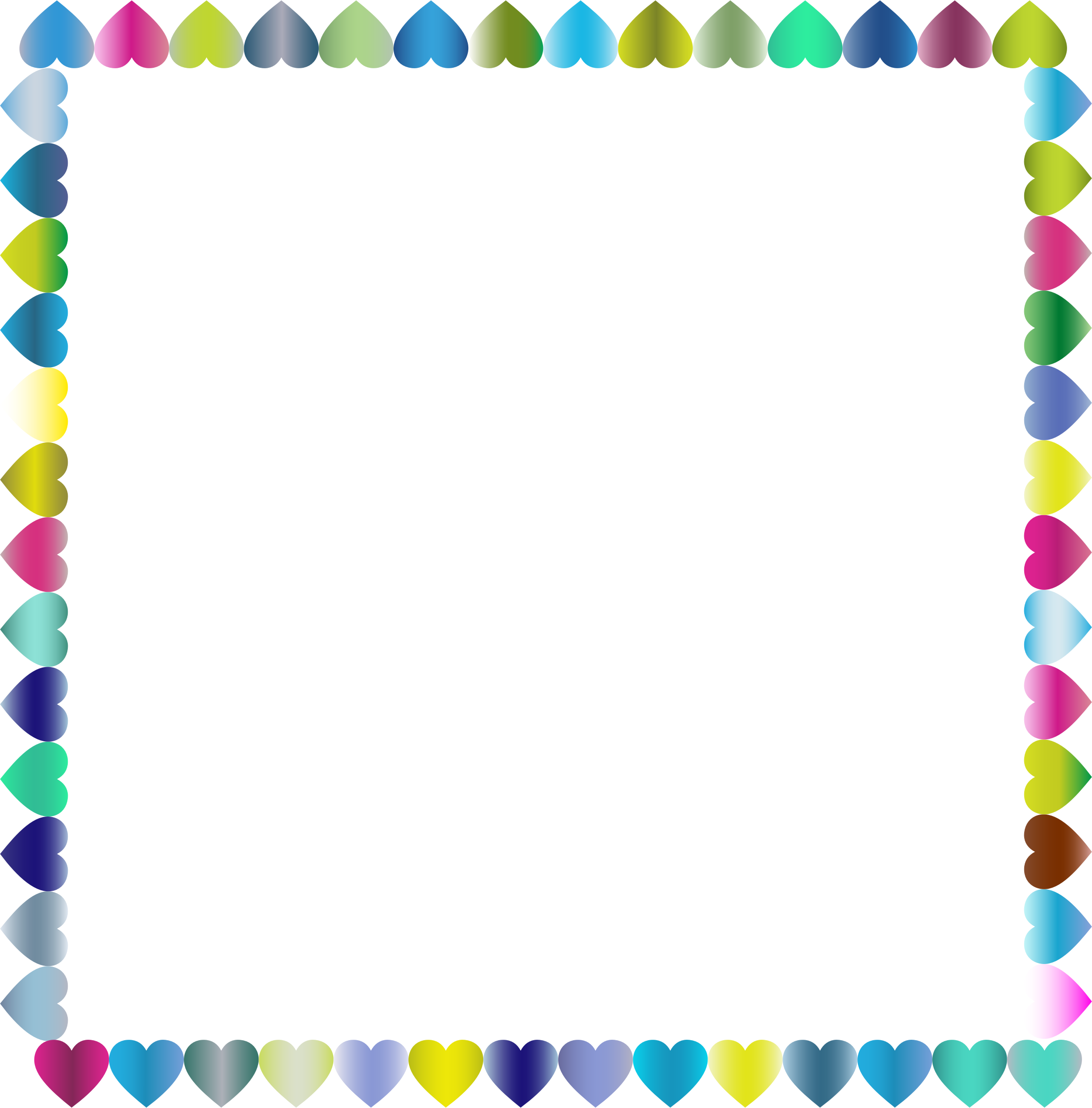backgrounds clip art frames my cute graphics - HD 2192×2224