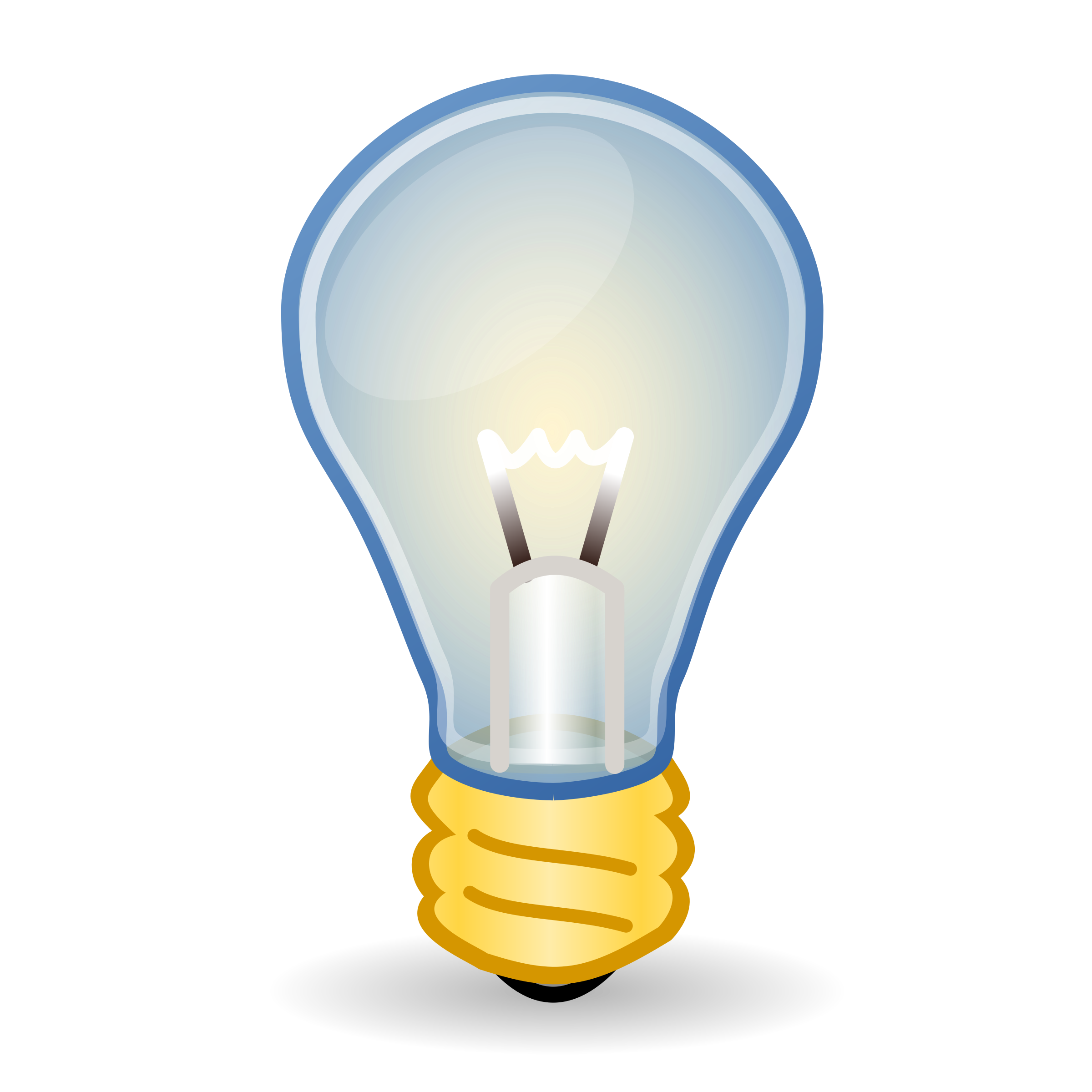 Clipart Incandescent Light Bulb