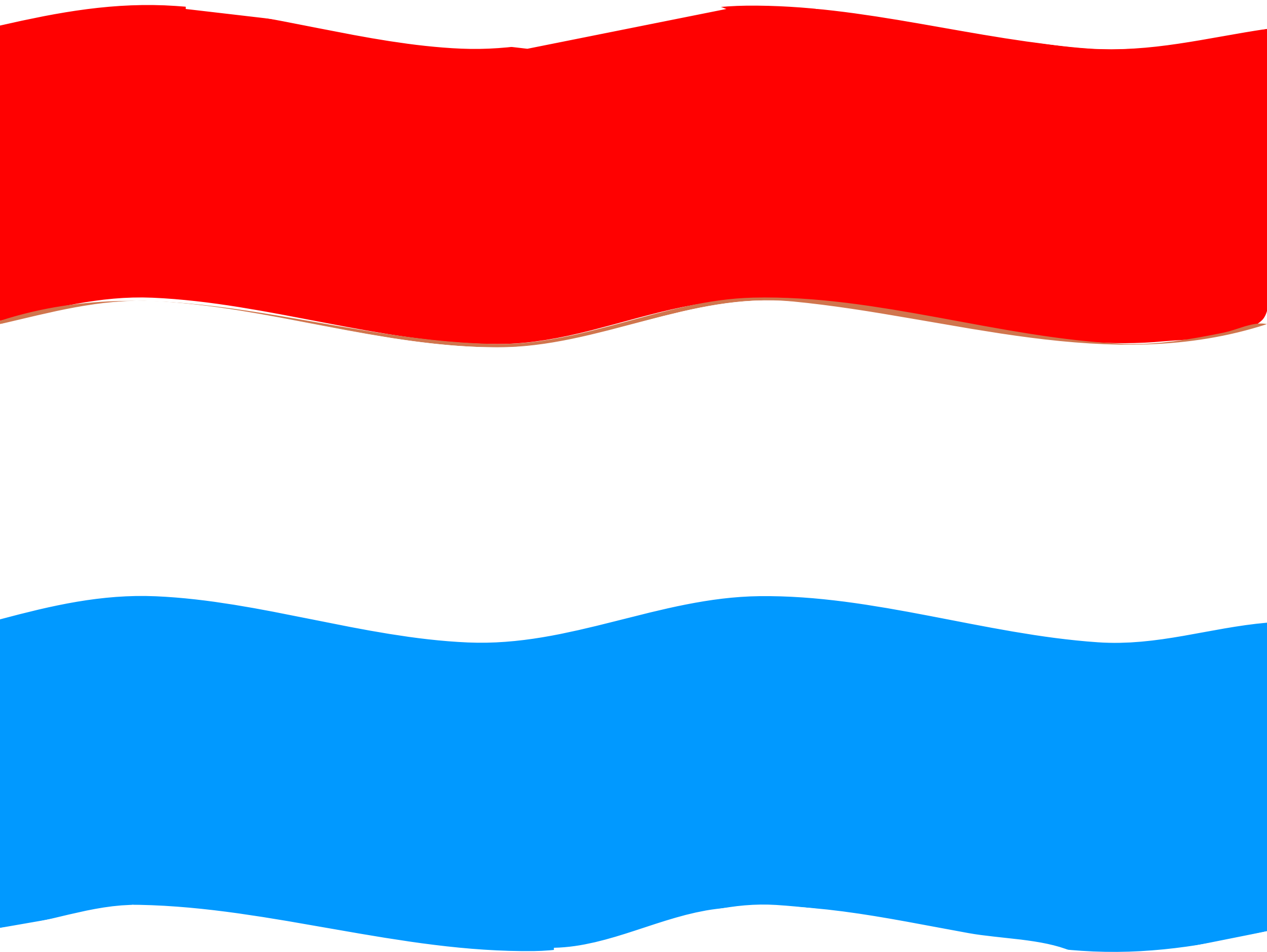 Flag of Luxemburg wave by Joesph