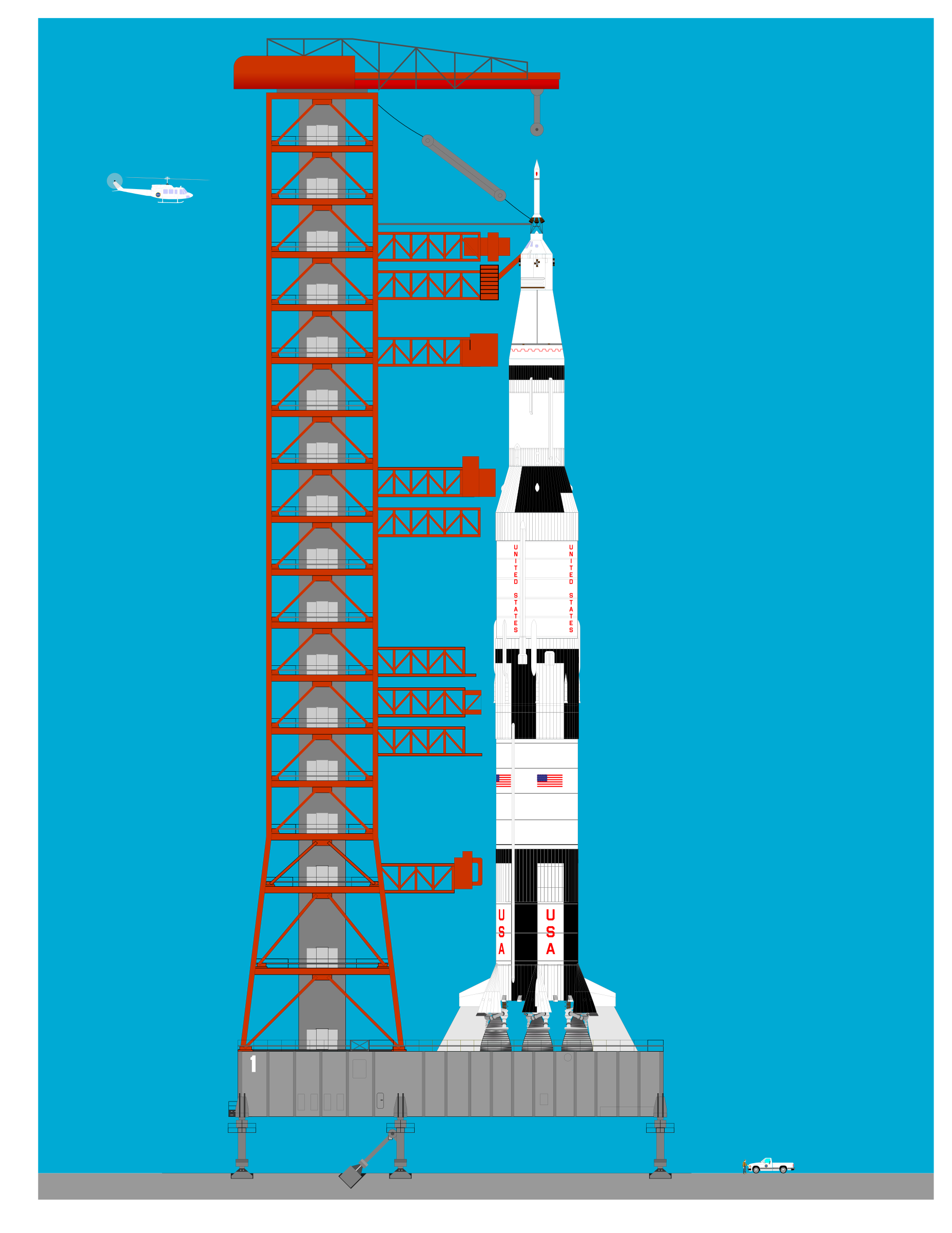 apollo spacecraft clipart - 900×900