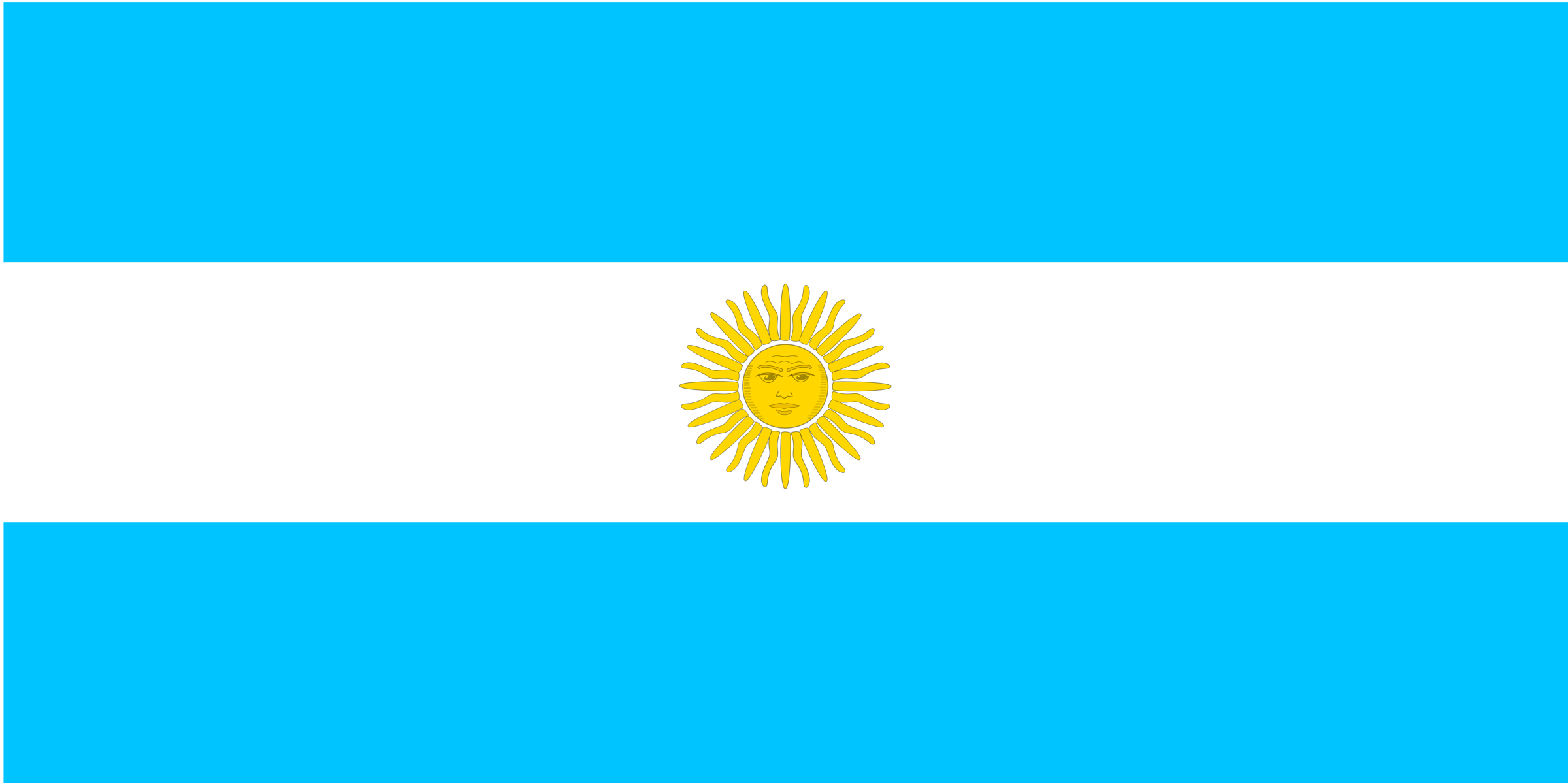 flag of Argentina by Anonymous
