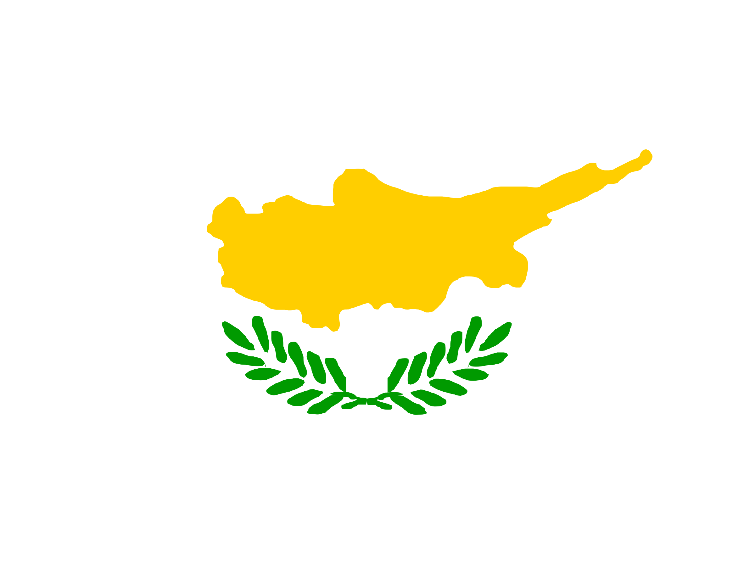 flag of Cyprus by Anonymous