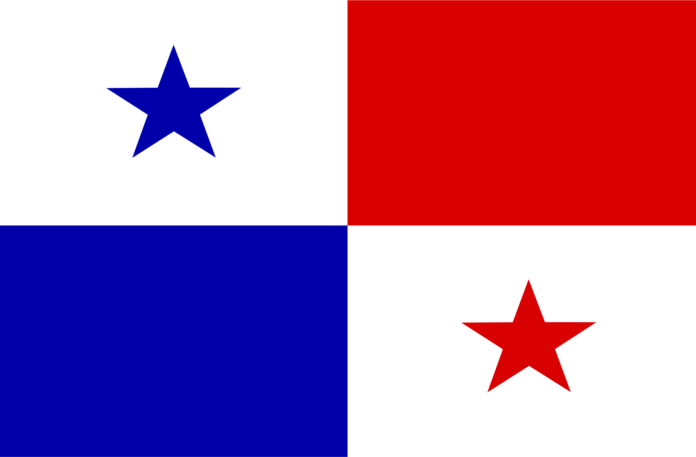flag of Panama by Anonymous