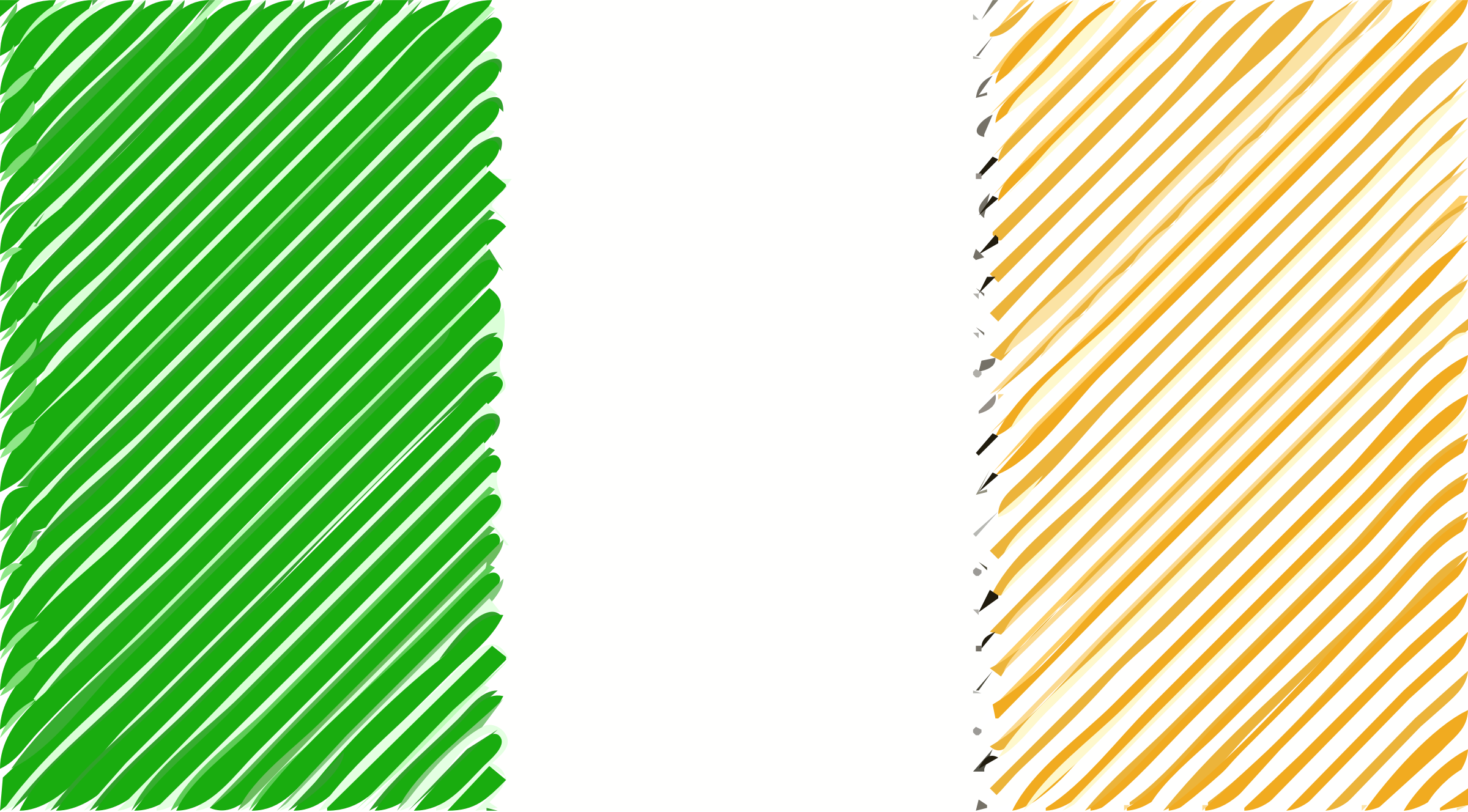 Ireland flag linear by Joesph