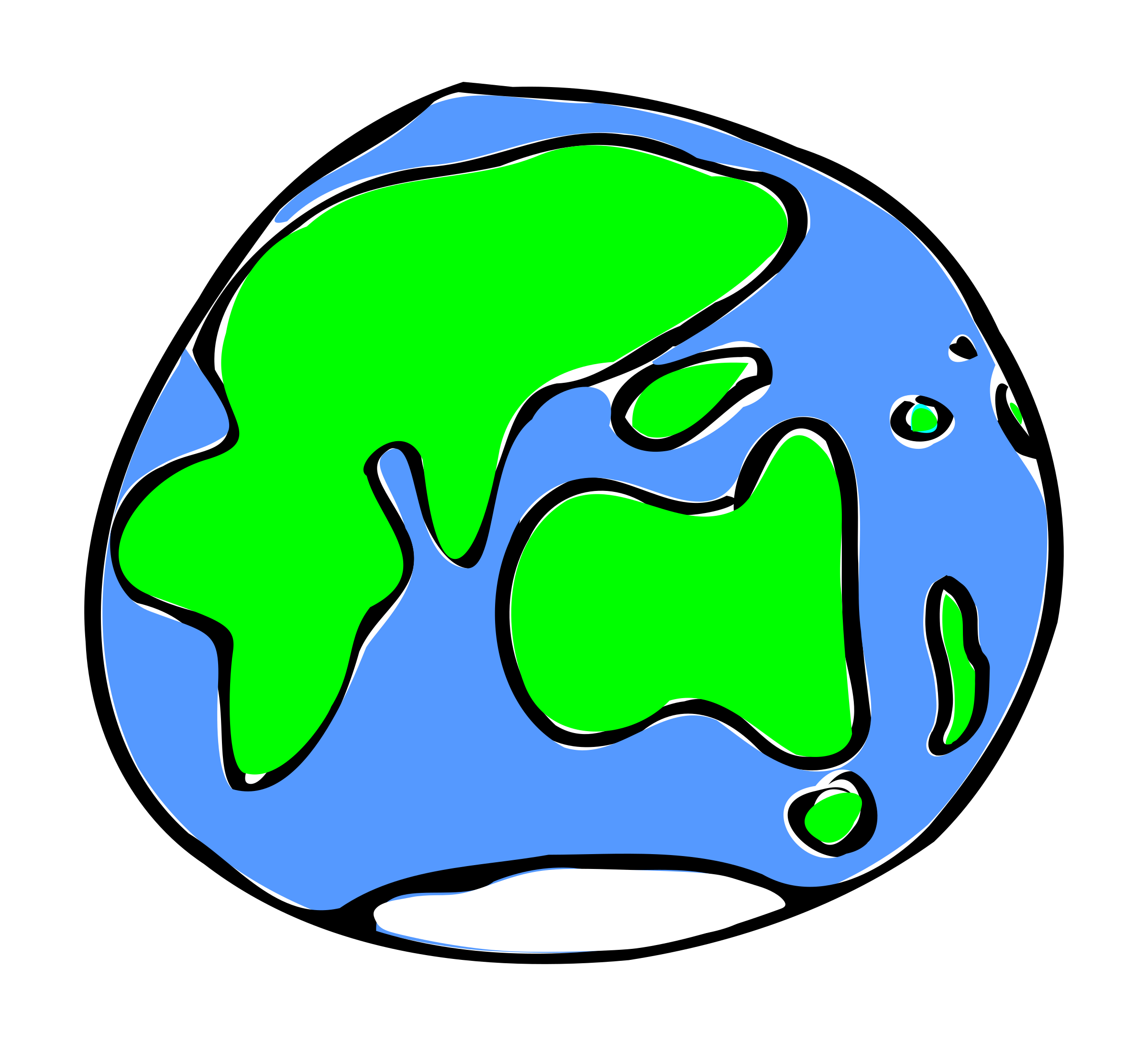 Clipart Earth Quick Sketch