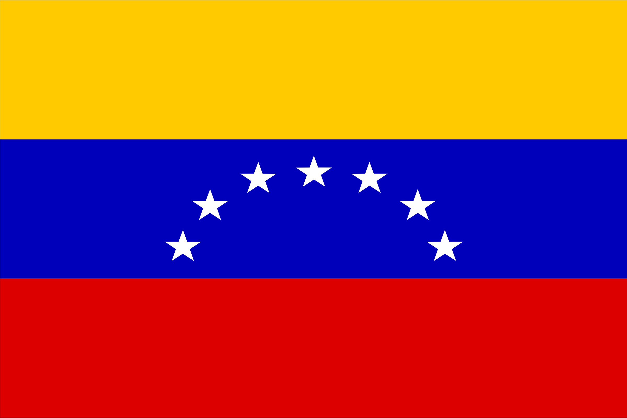 flag of Venezuela by Anonymous
