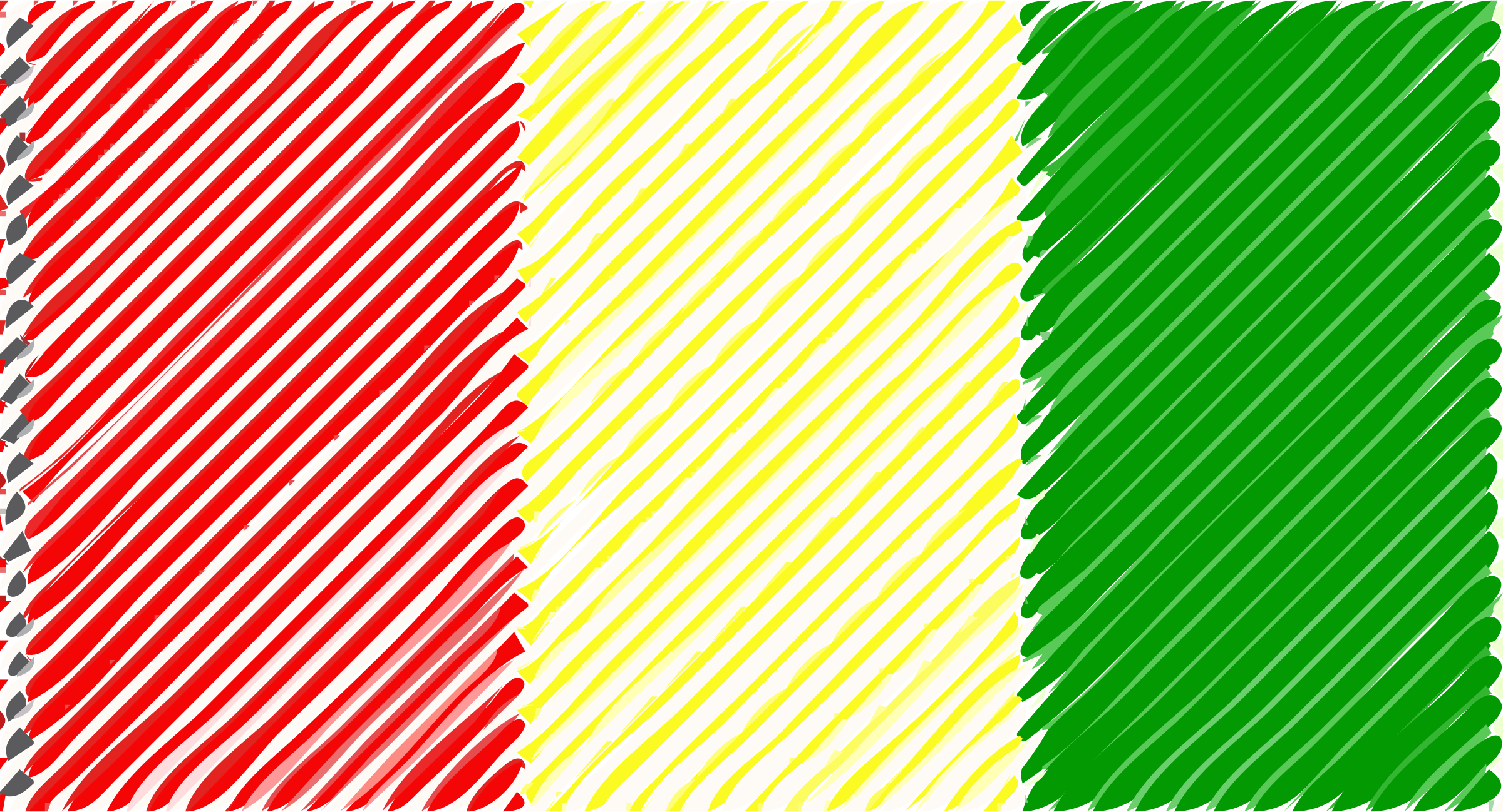 Guinea flag linear by Joesph