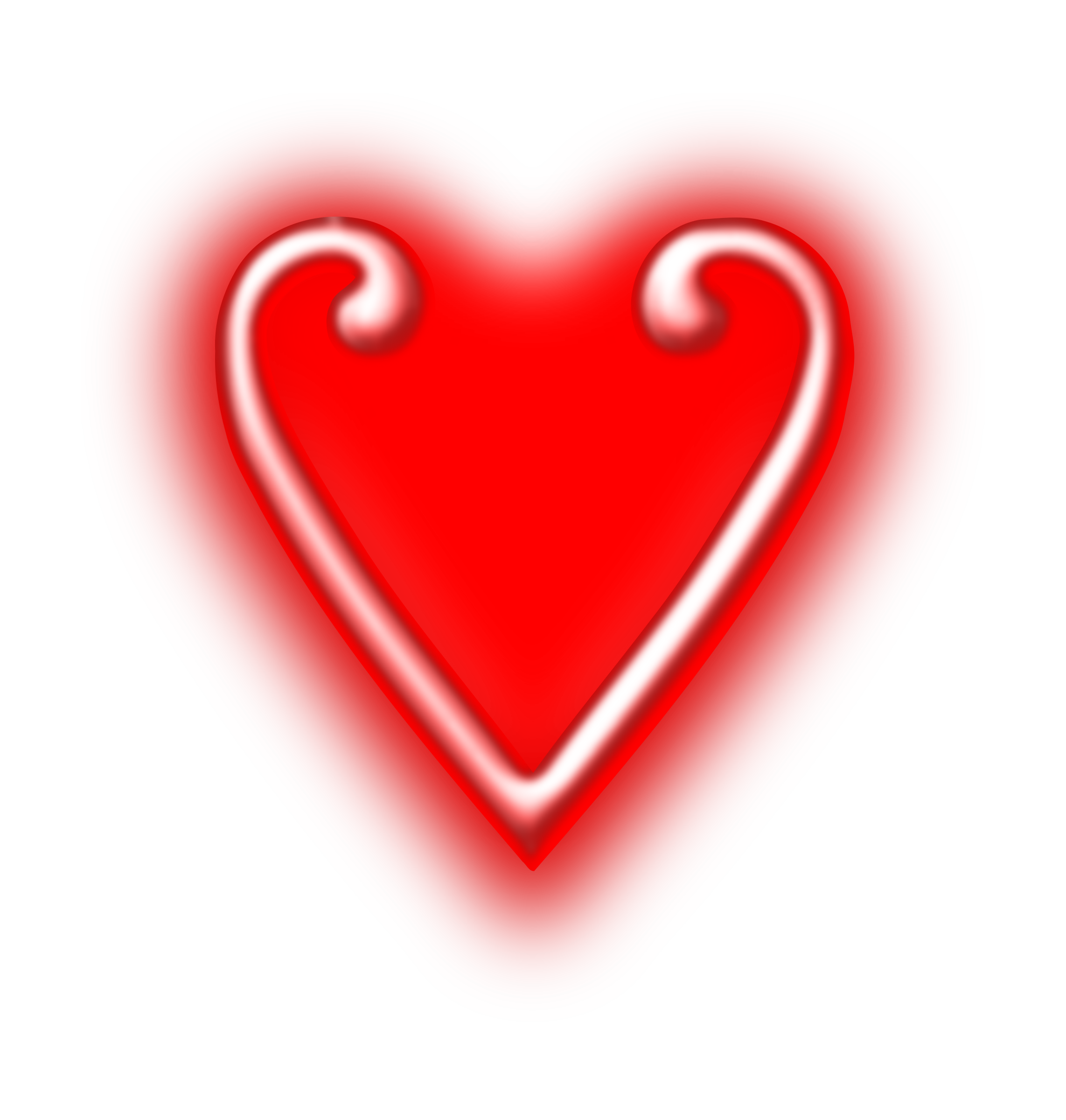 Stylised heart 2 by Firkin