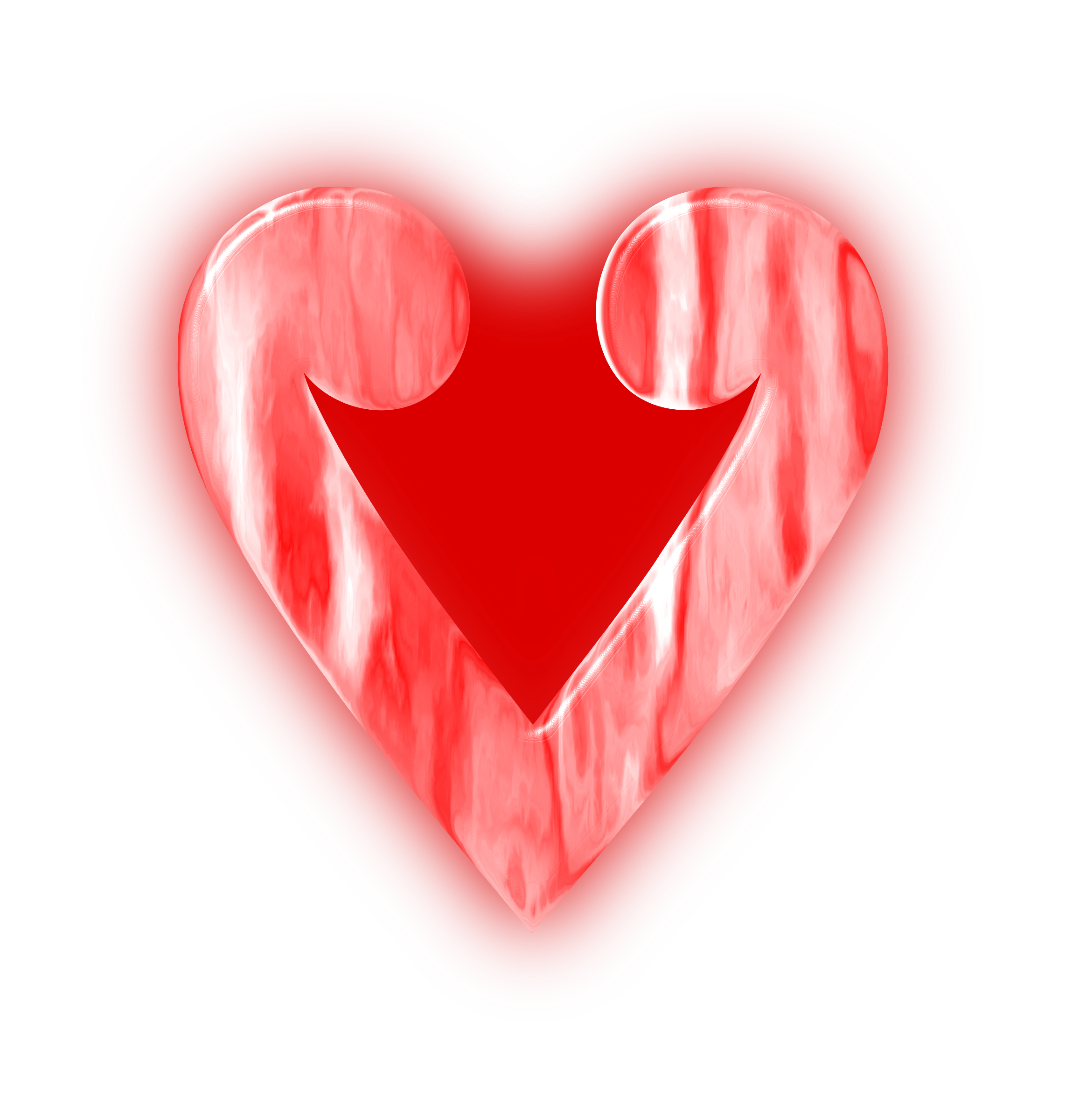 Stylised heart 3 by Firkin