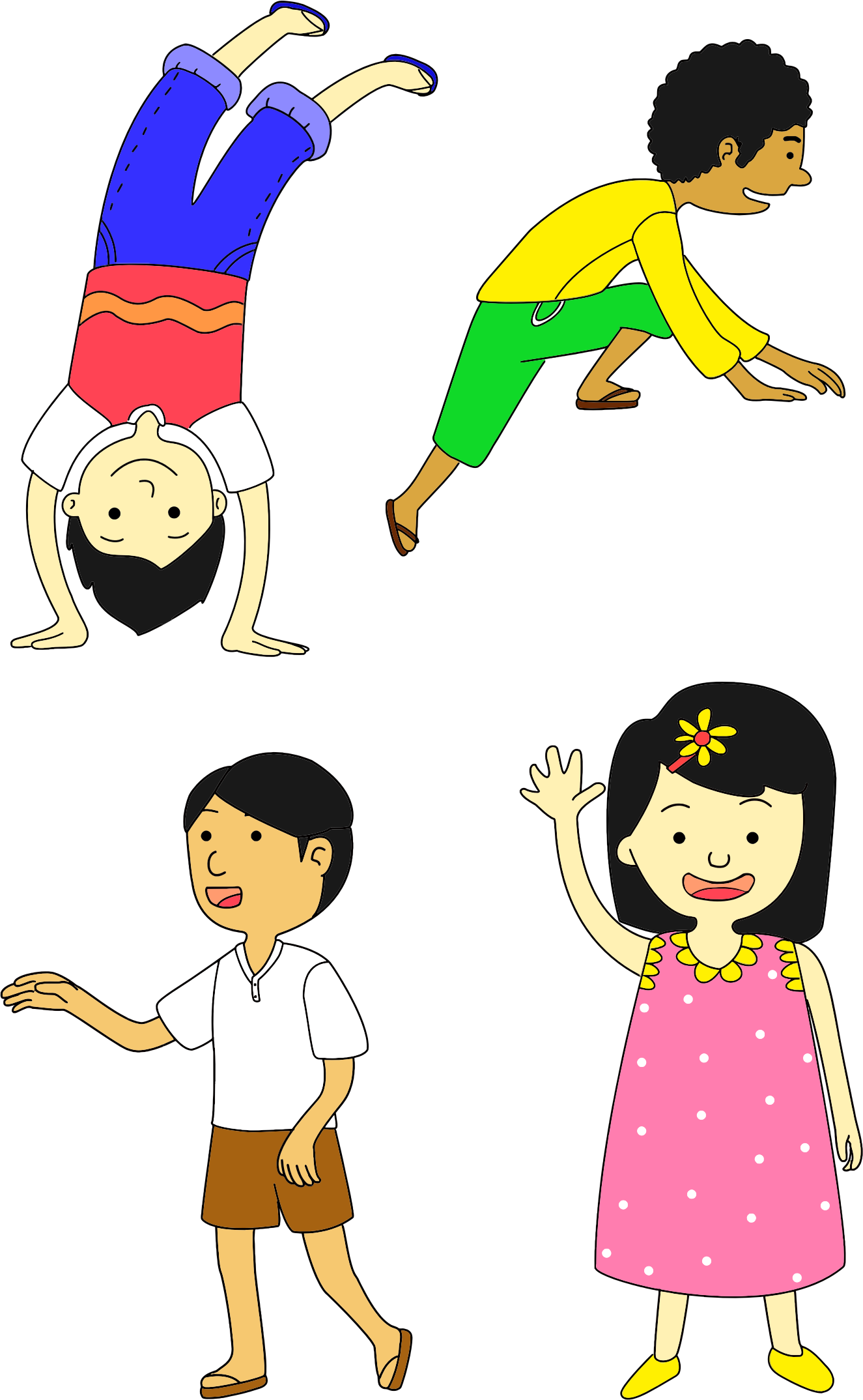 Multicultural Kids by GDJ