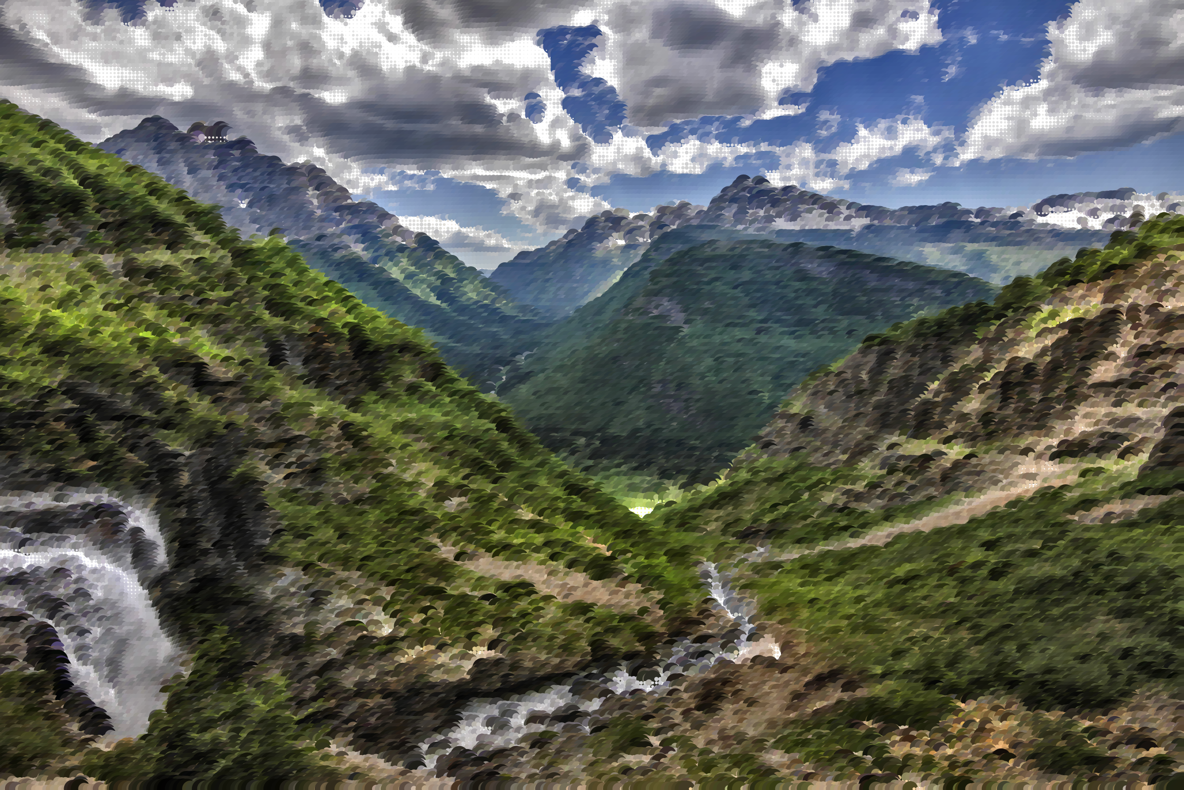 Surreal Glorious Valley by GDJ