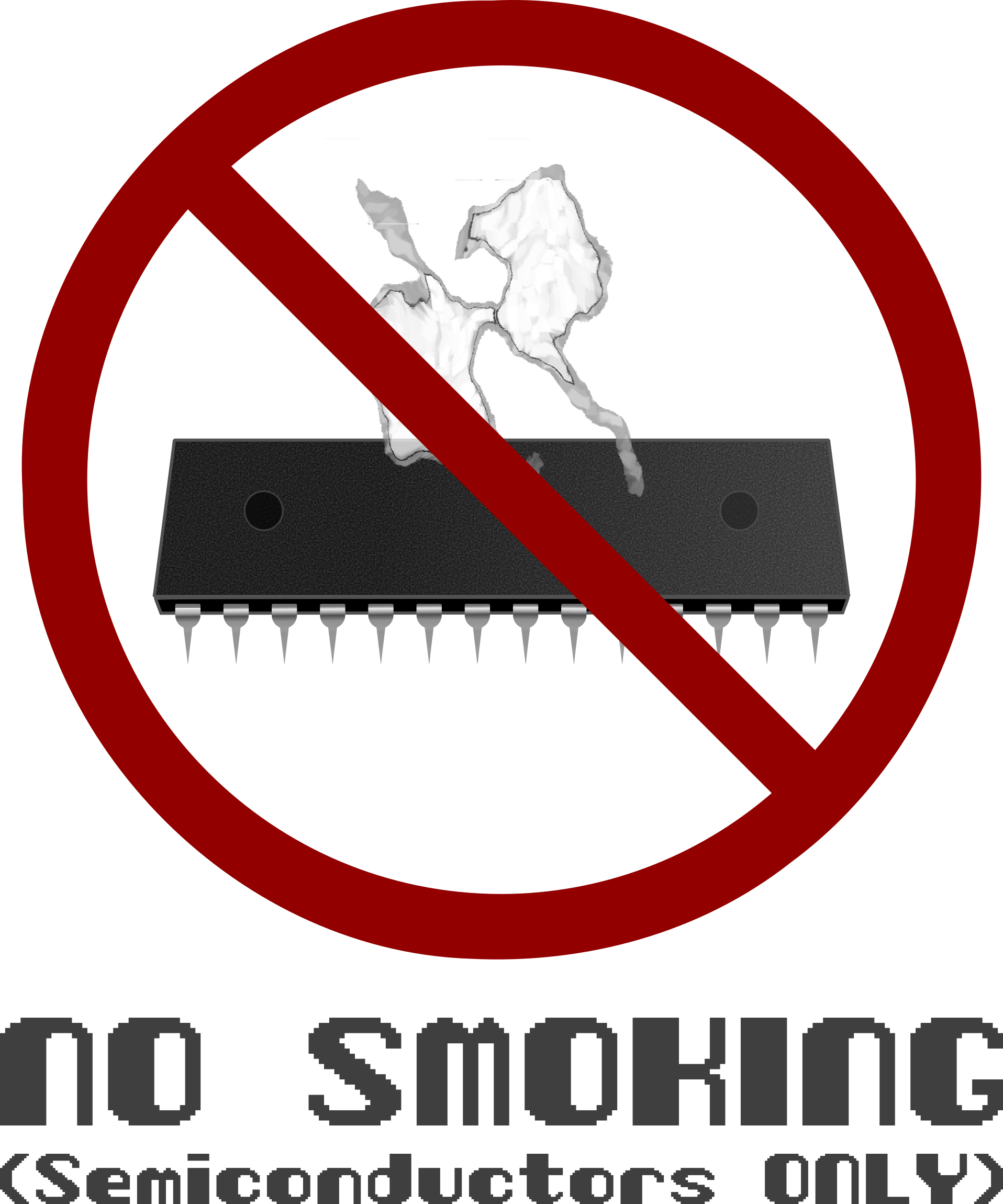 No Smoking CPUs by Arvin61r58