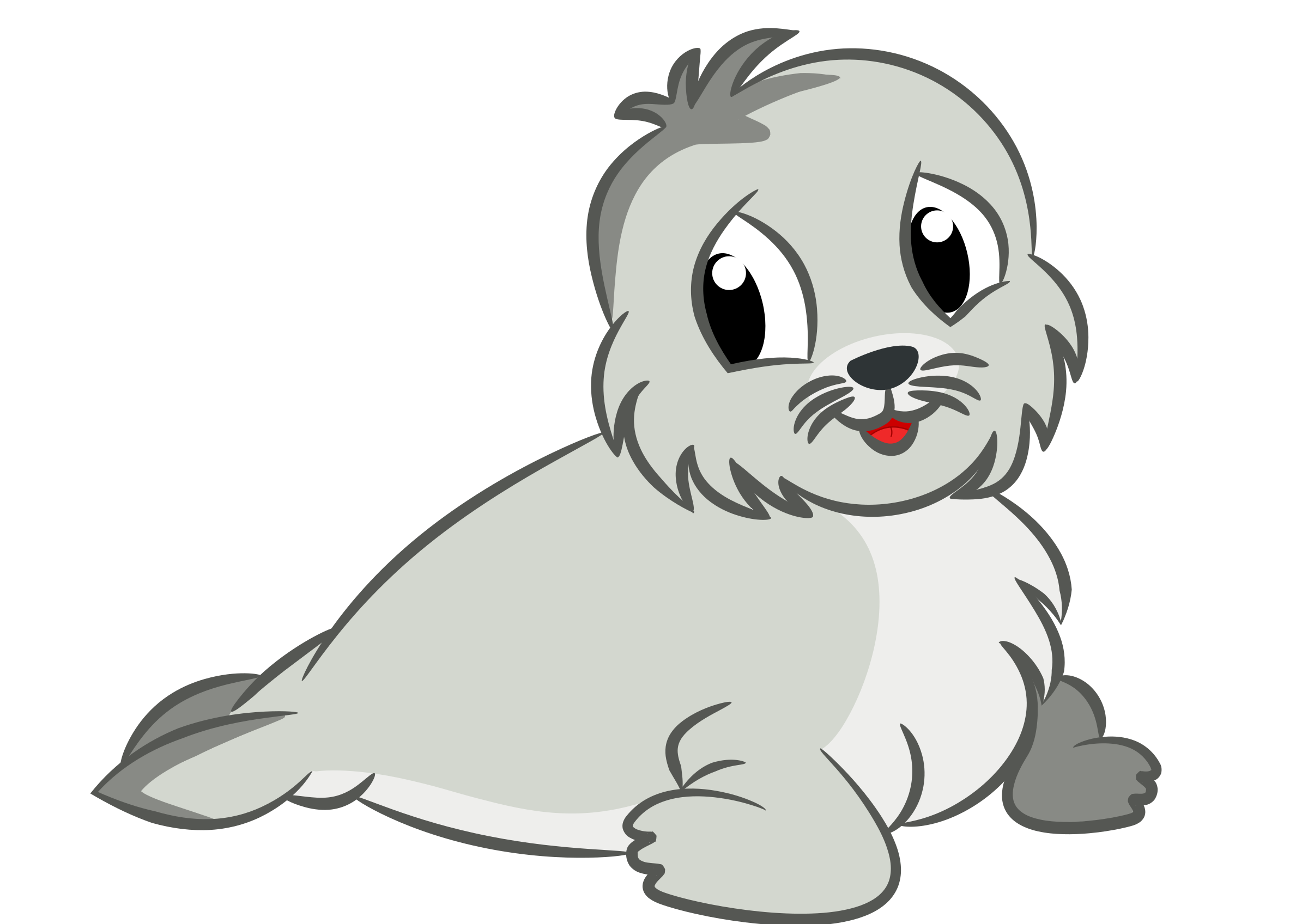 Baby seal drawing by Susa